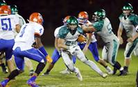 The St. Edward Central Catholic High School football team hosted Fenton High School on Friday, Sept. 29, in Elgin.