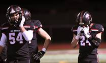 The Huntley High School football team hosted and fell 42-38 to Edwardsville High School during the first round of football playoffs on Friday, Oct. 27, in Huntley.