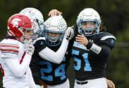 Willowbrook hosted Deerfield for Class 6A first round playoff football in Villa Park.
