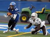 Lake Zurich hosted Mt. Carmel for Class 7A state semifinal football playoff action on Saturday, Nov. 17 in Lake Zurich.