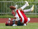 Neuqua Valley hosted and won 27-6 over Glenbard North for football action on Friday, Aug. 24 in Naperville.