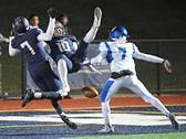 The IC Catholic Prep Knights hosted the St. Francis Spartans for football action on Friday, Oct. 12 in Elmhurst.