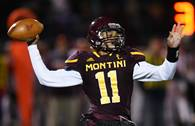 The Montini Broncos hosted the Brother Rice Crusaders for football action on Friday, Oct. 19 in Lombard.