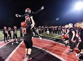 Glenbard East hosted Prospect for first-round football action on Friday, Oct. 26 in Lombard.