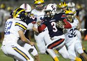 The Glenbrook South Titans faced the Conant Cougars in football action on Friday, Sept. 13 in Hoffman Estates.