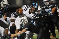 The Willowbrook Warriors hosted the Downers Grove South Mustangs for football action on Friday, Sept. 13 in Villa Park.