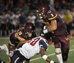 Montini Catholic hosted St. Rita for football on Friday, September 20, in Lombard.