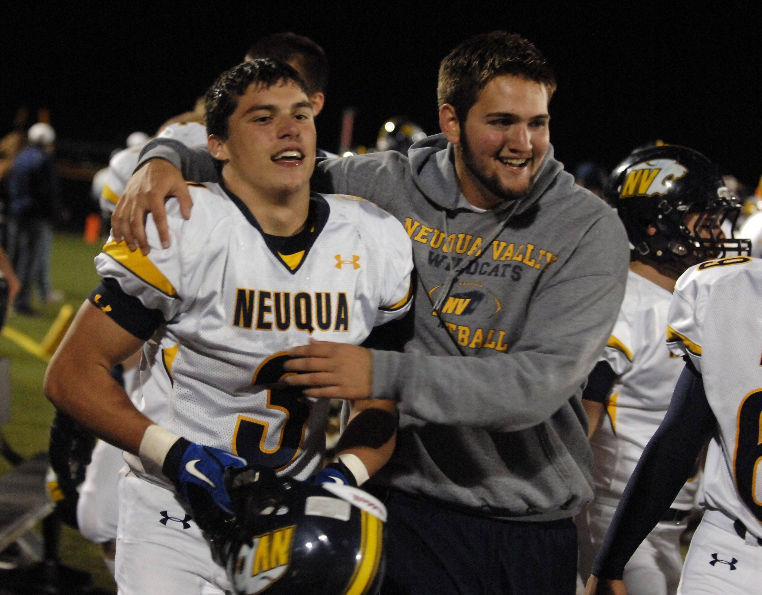 Week 8 - Images from the Neuqua Valley at Bartlett football game Friday, October 15, 2010.