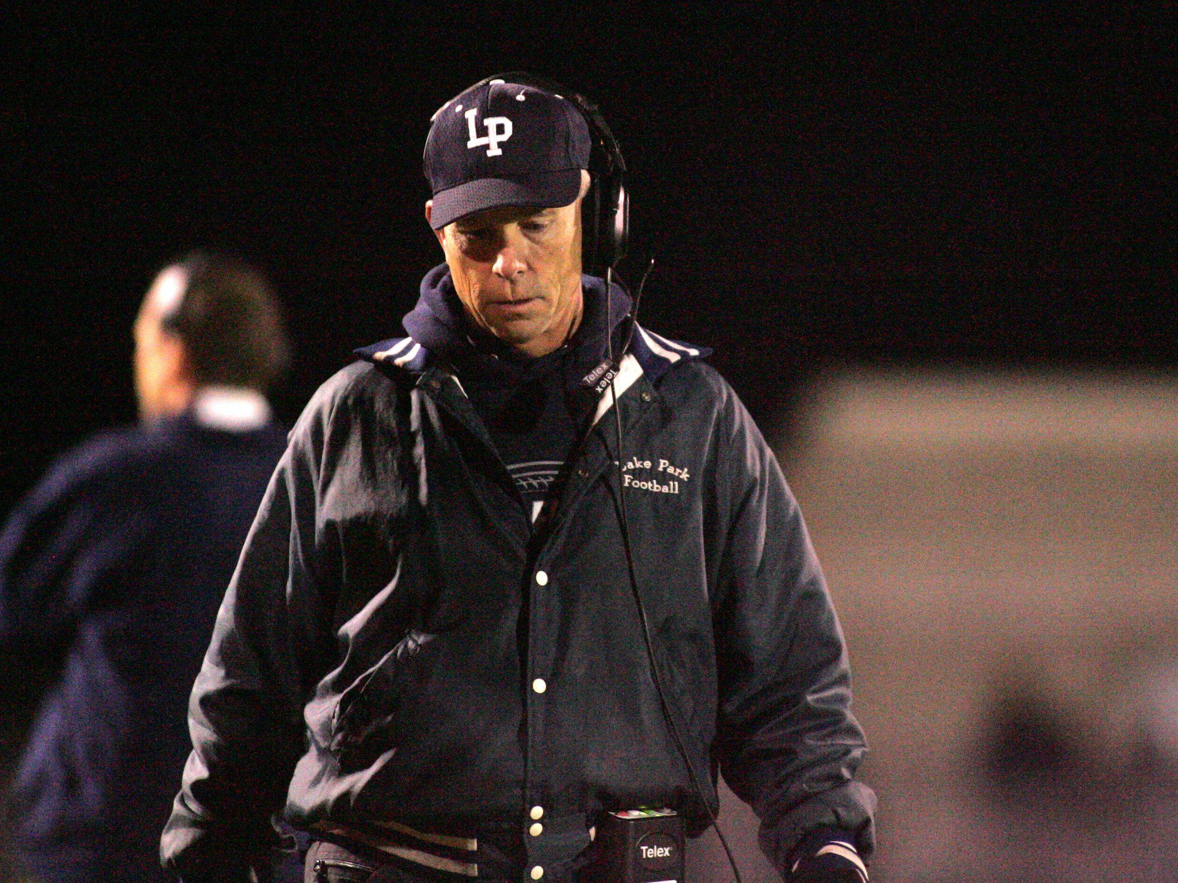 WEEK 9- Lake Park coach Andy Livingston .