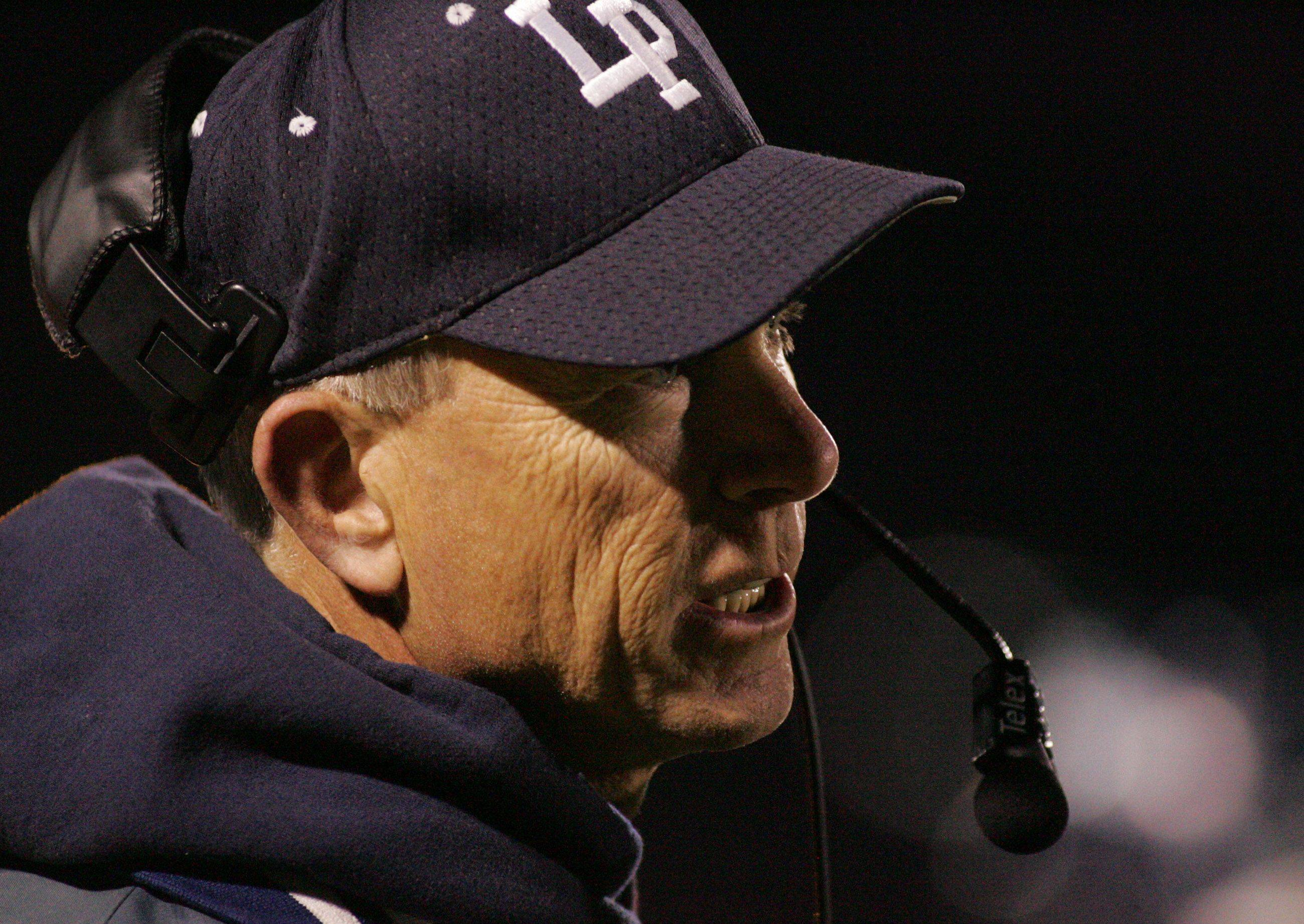 WEEK 9- Lake Park coach Andy Livingston.