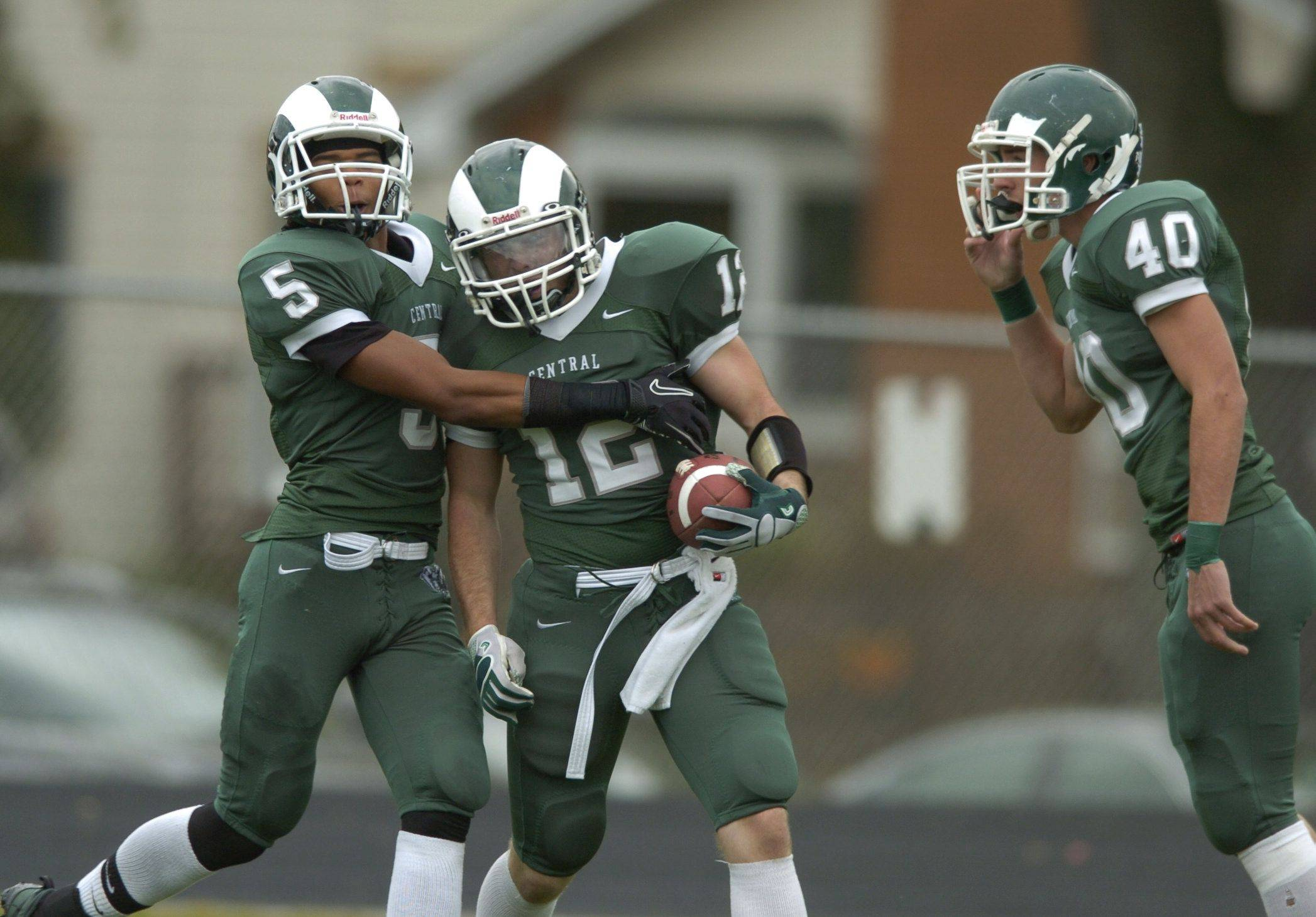 Week 9 - Images from the Mt. Vernon at Grayslake Central football game Saturday, October 23.