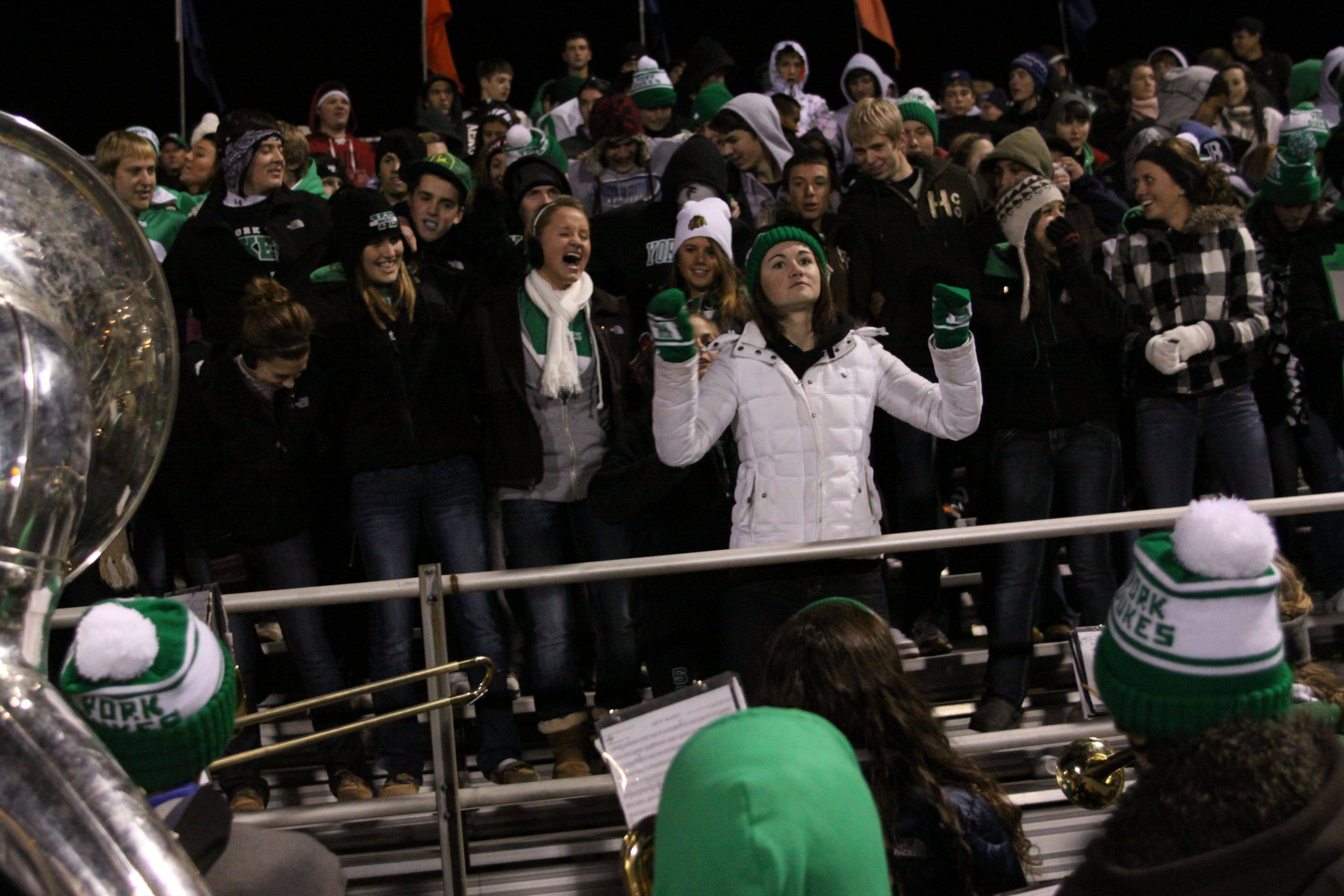 Playoffs � week two � York at Naperville North playoff football.
