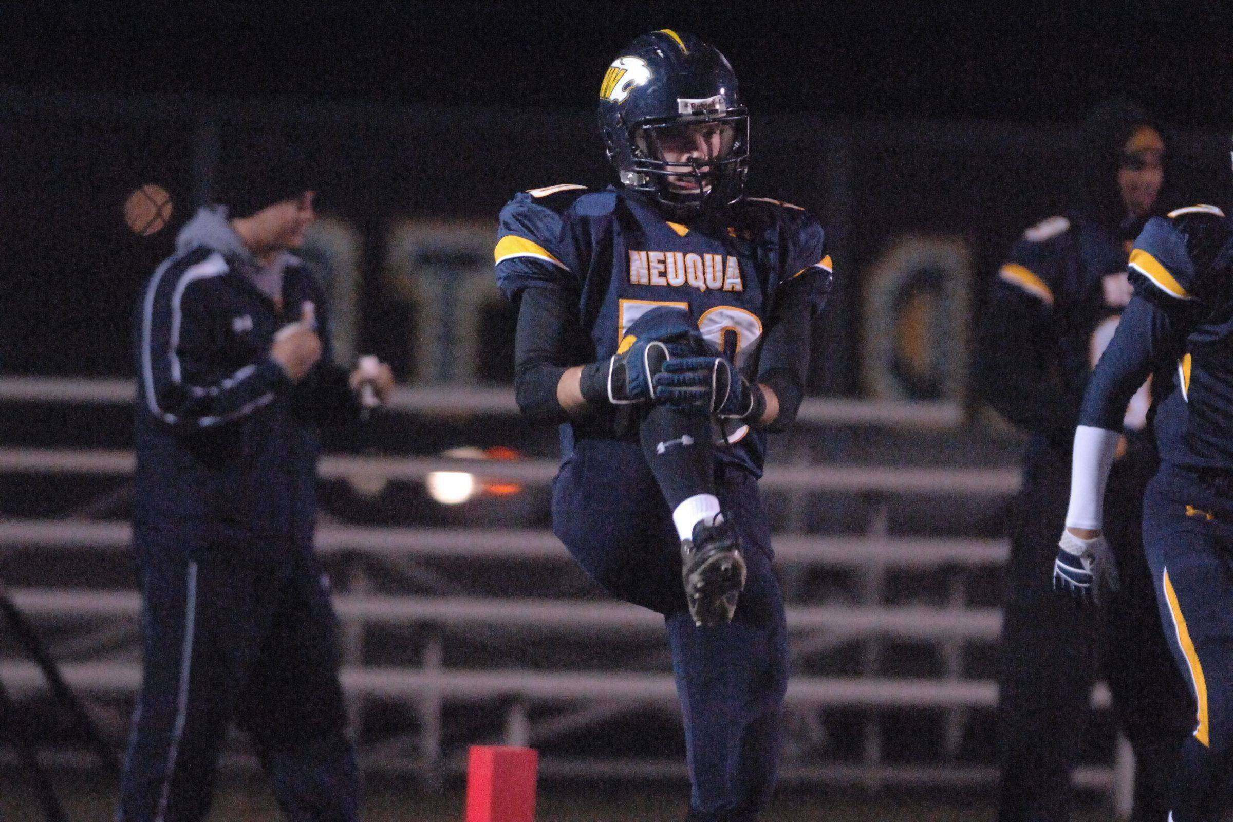 Playoffs � week two � Mt. Carmel at Neuqua Valley playoff football.
