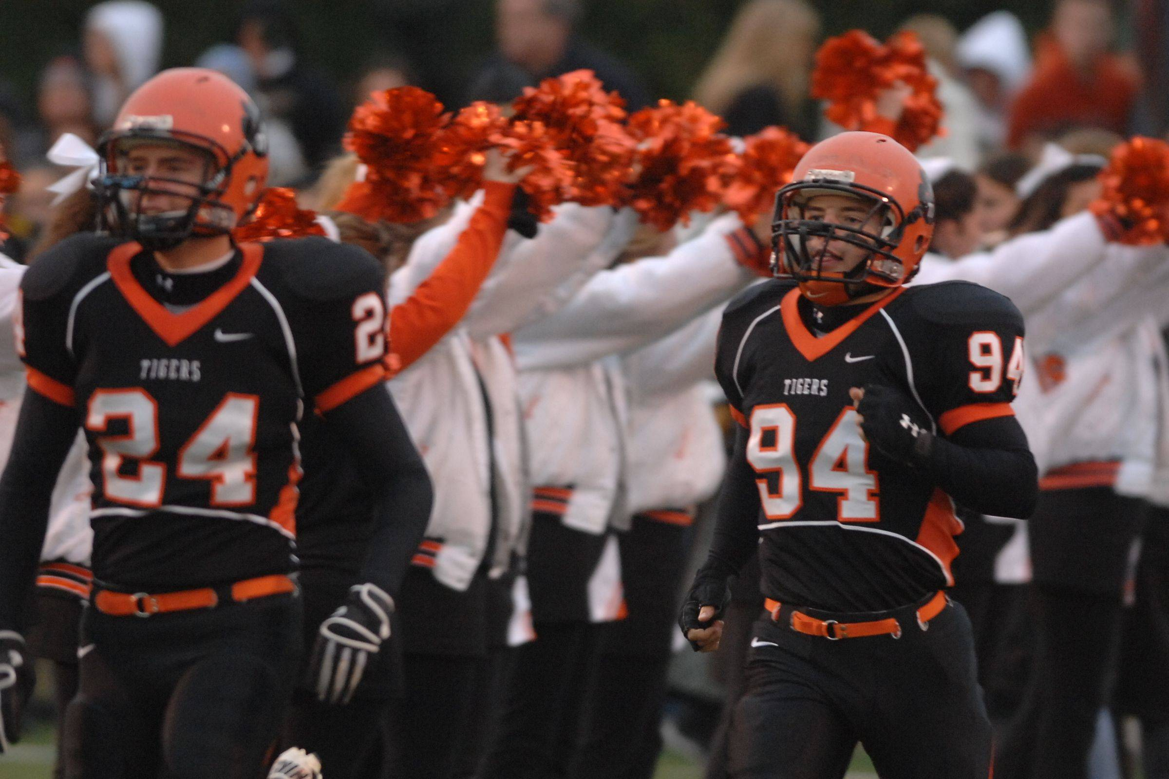 Playoffs � week three � Glenbard West at Wheaton Warrenville South quarterfinal playoff football.