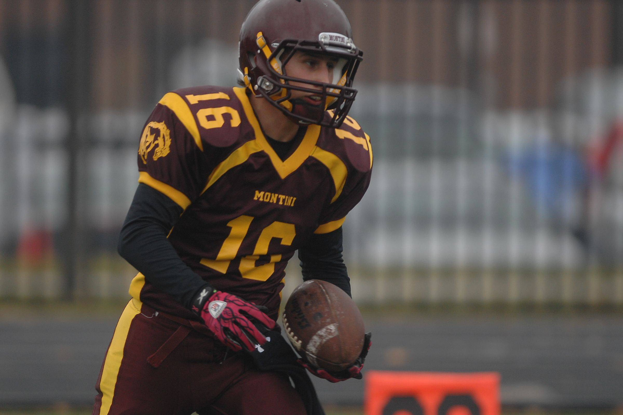 Playoffs � week three � Marian Cental vs. Montini football quarterfinal played at Elmhurst College.