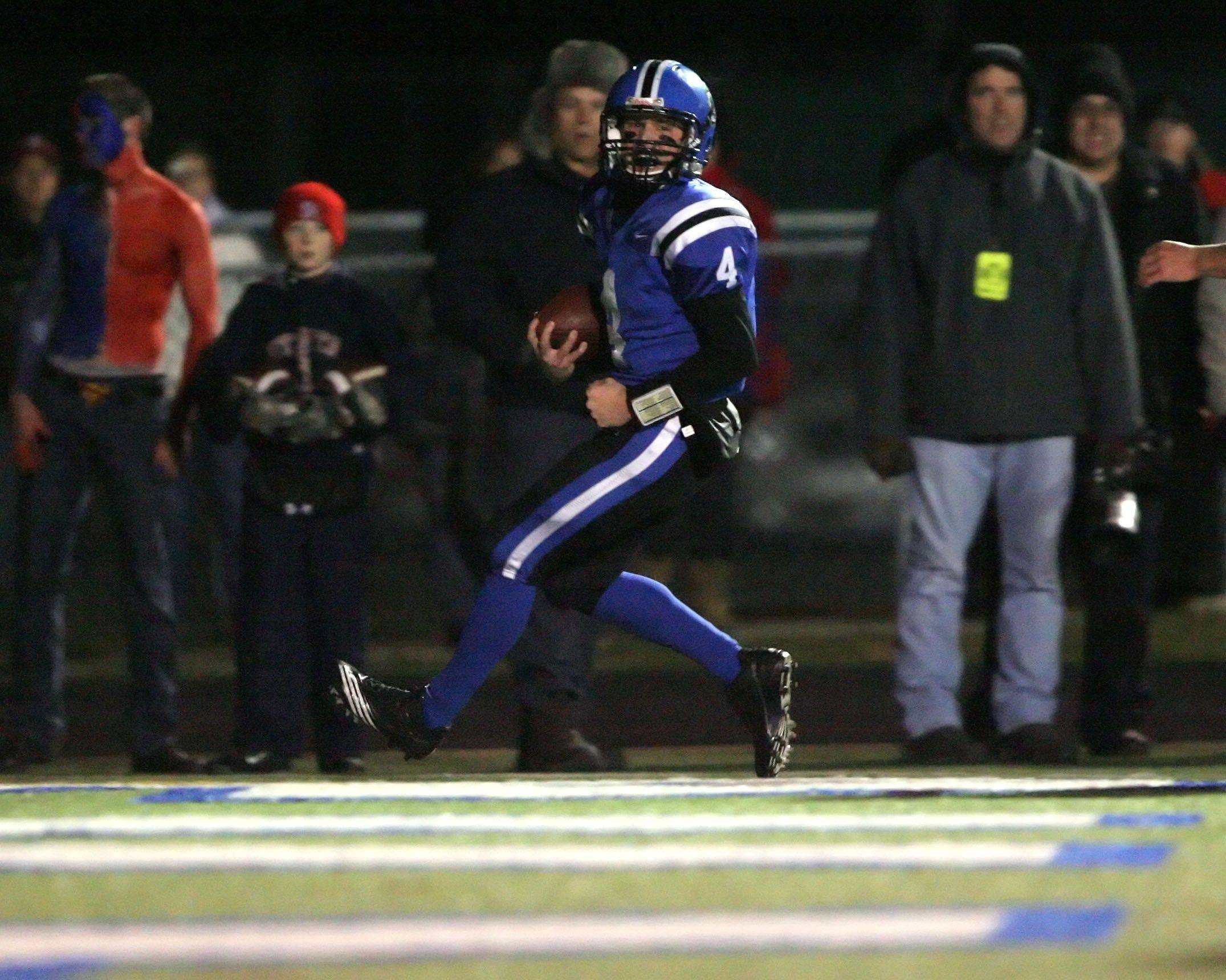 Playoffs - week four - Images from the St. Rita at Lake Zurich Class 7A state semifinal football game Saturday, November 20.