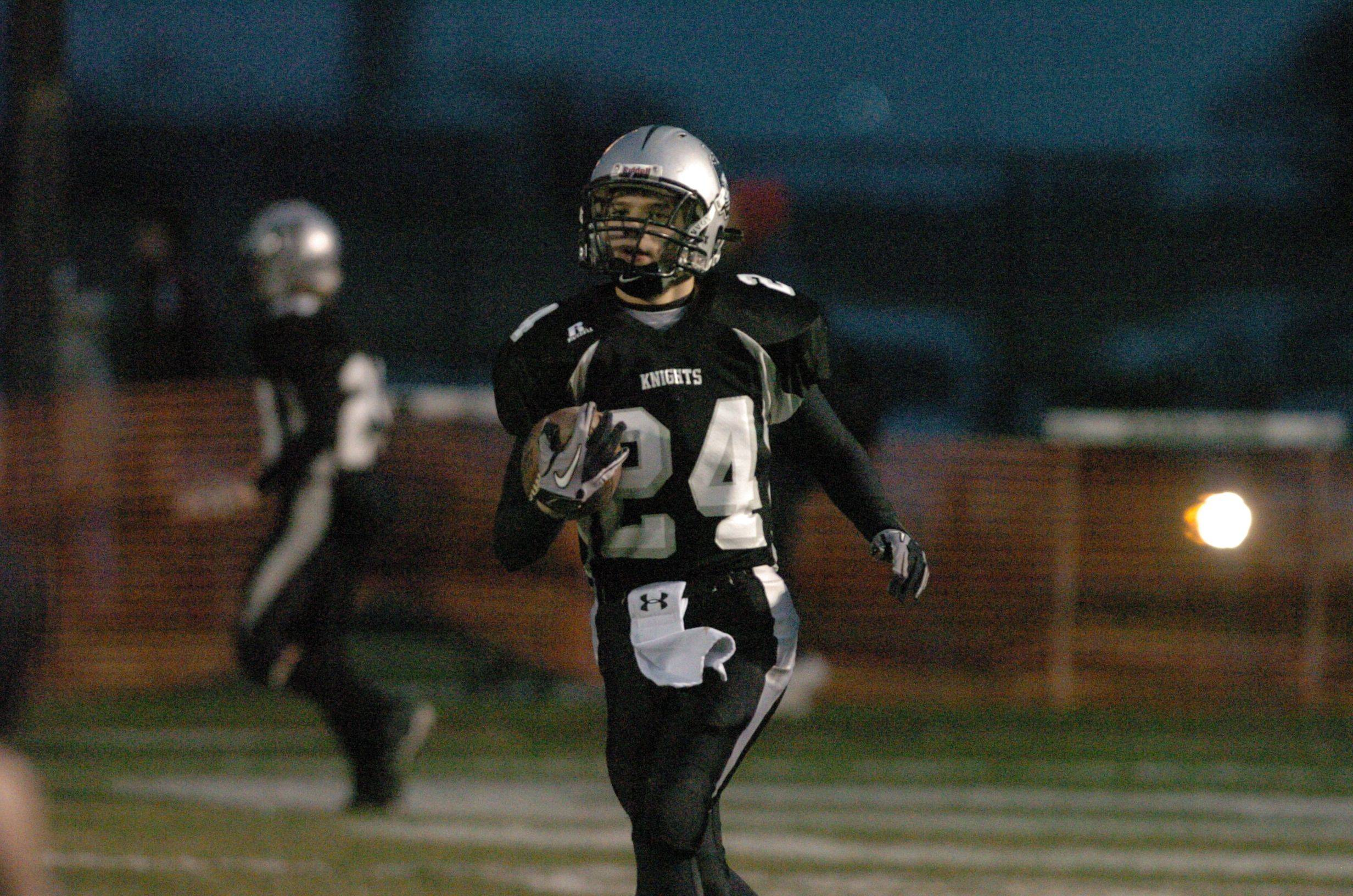 Playoffs � week four � Montini at Kaneland Class 5A semifinal football playoff game.