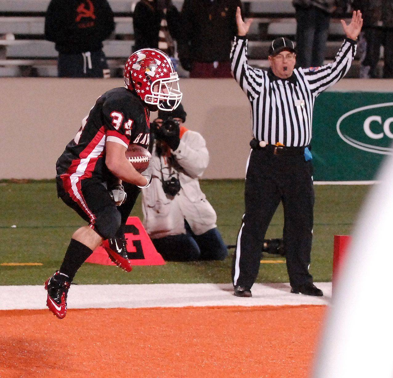Images from the 8A state title game between Maine South and Mt. Carmel Saturday, November 27, 2010.