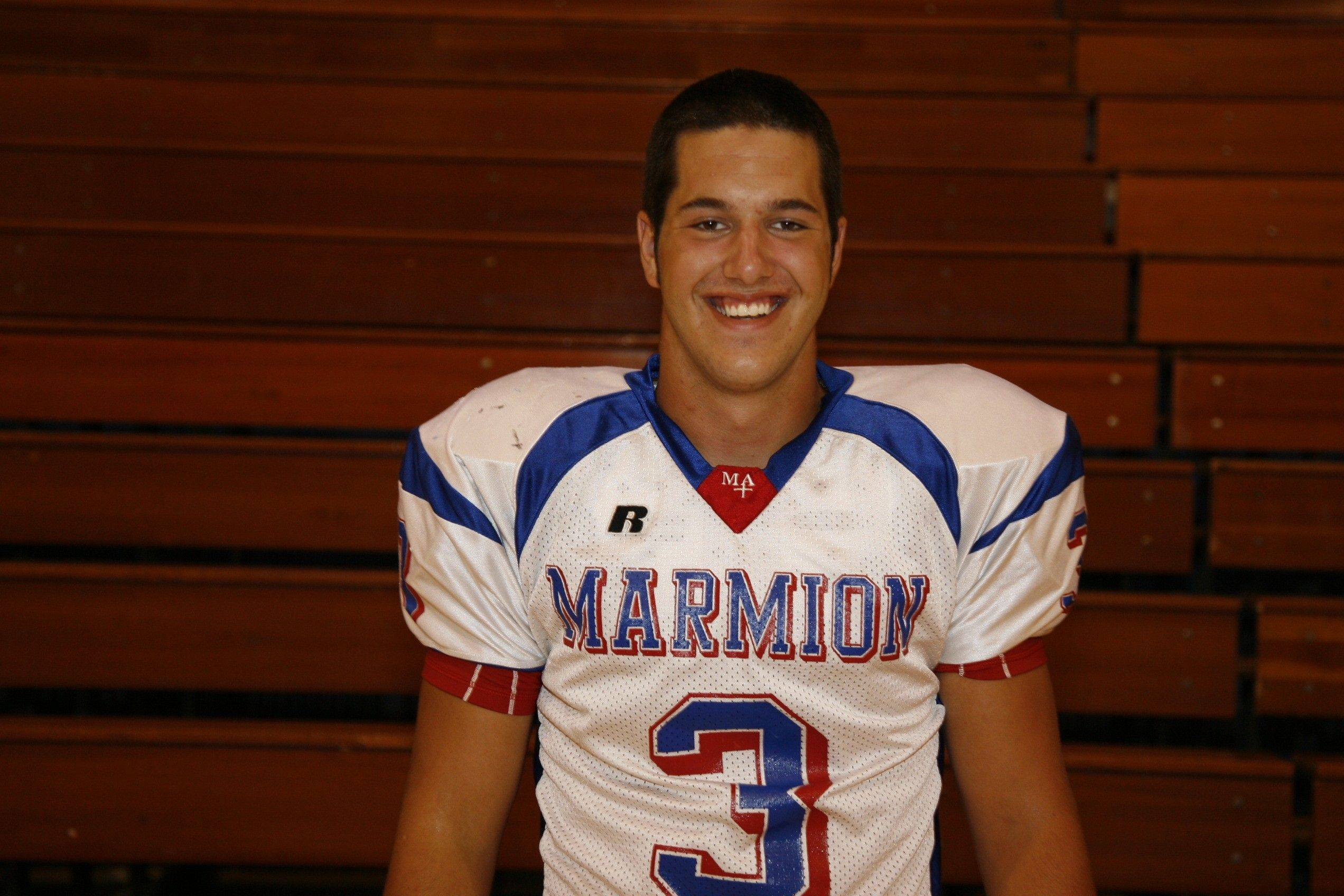 Nick Scoliere, Marmion all-area football player
