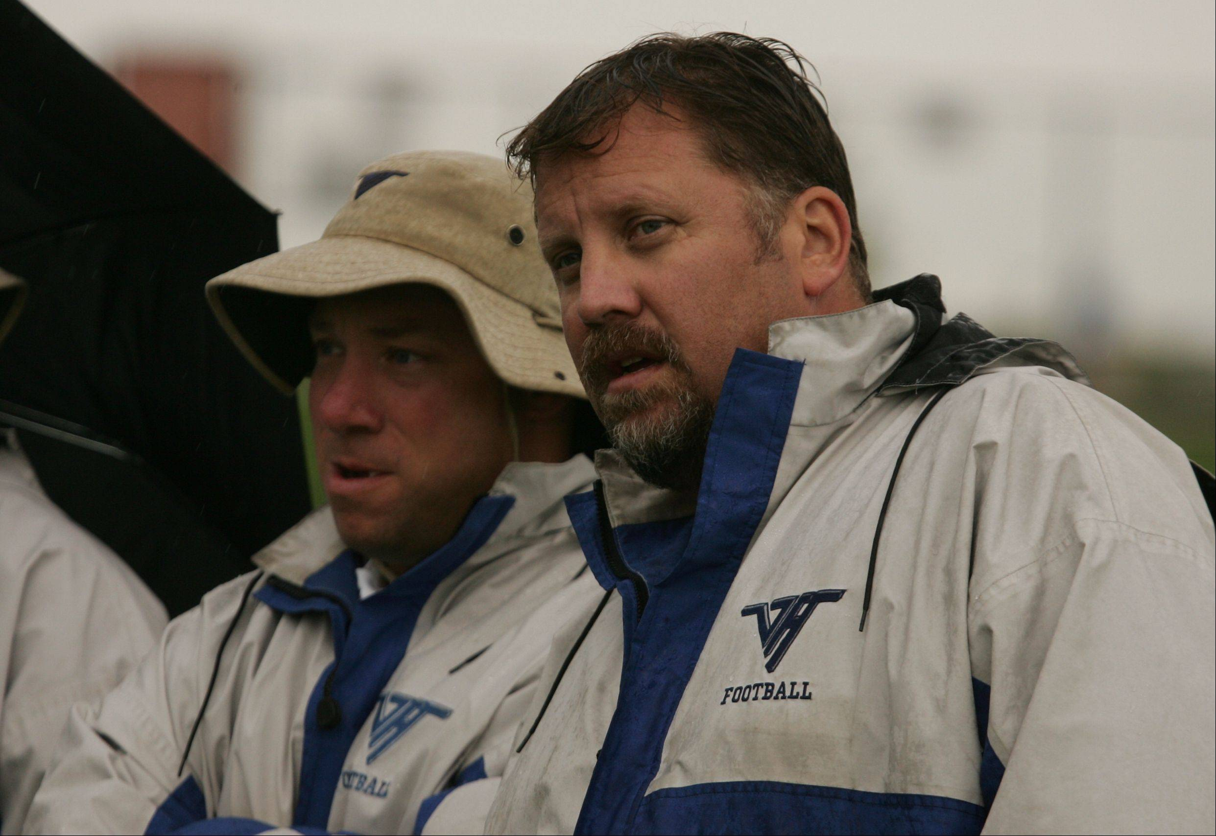 Coach Tony Monken won't forget the unusual conditions for Vernon Hills' game against Mundelein 10 years ago — a pregame candlelight vigil, and no air traffic overhead.