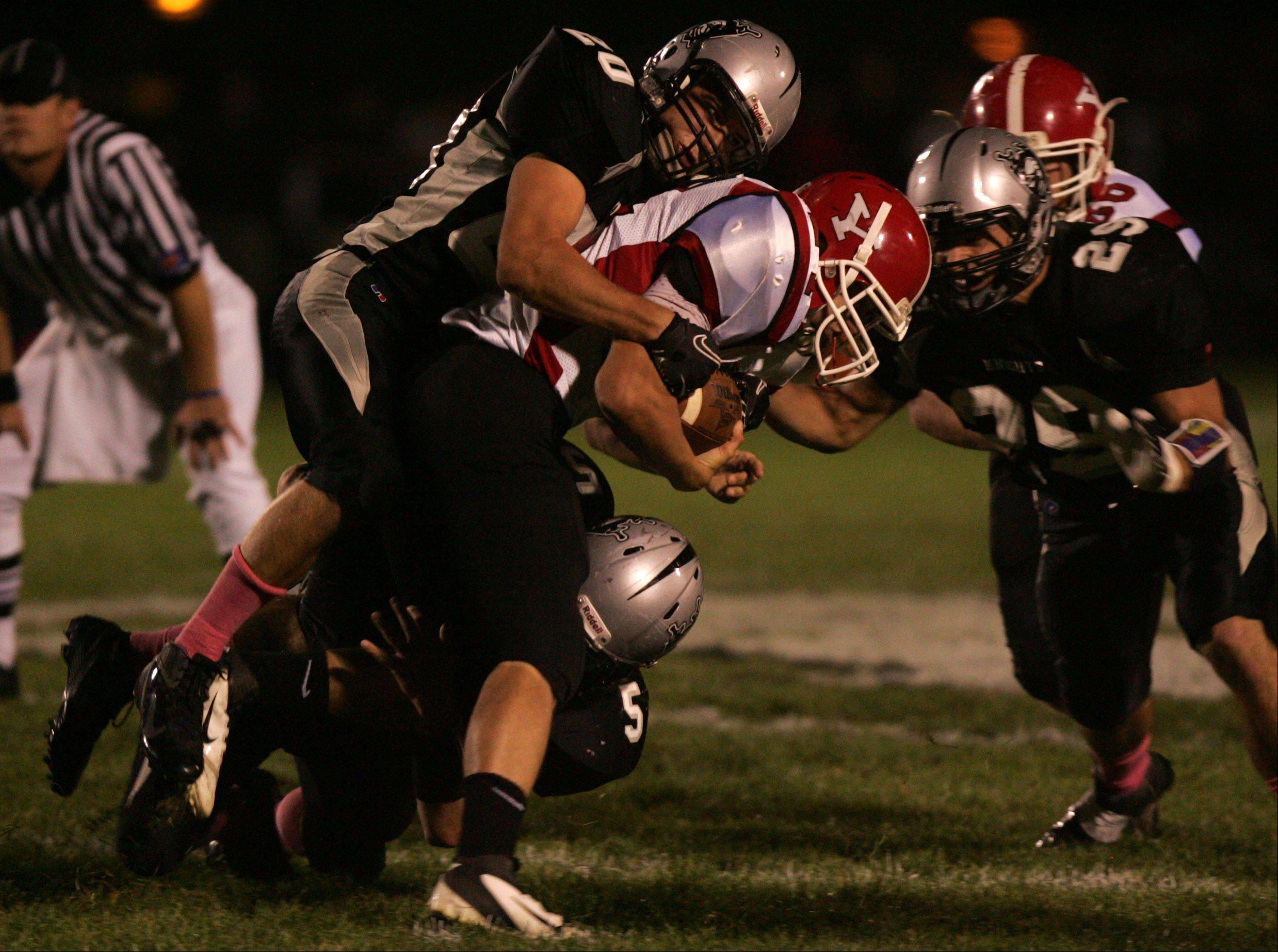 Week 7 - Images from the Yorkville vs. Kaneland football game Friday, October 7, 2011.
