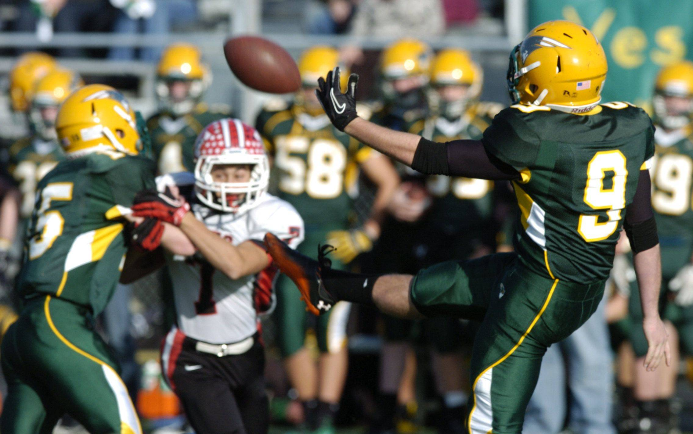 Playoffs - Round Two - Photos from the Maine South at Stevenson football game Saturday, November 5th.
