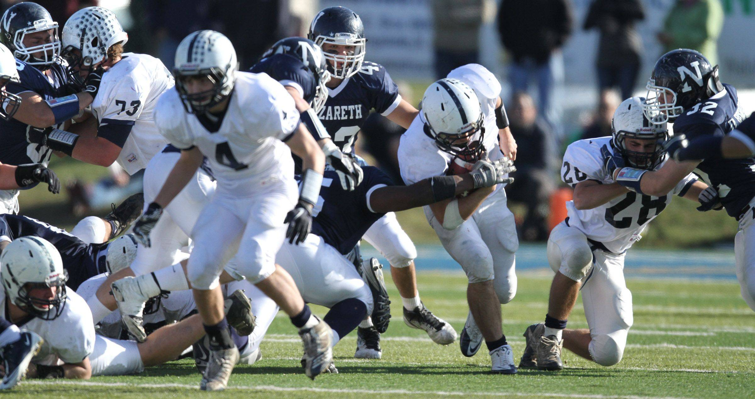Playoffs - Round Two - Images from the Cary-Grove vs. Nazareth Academy football game Saturday, November 5, 2011.
