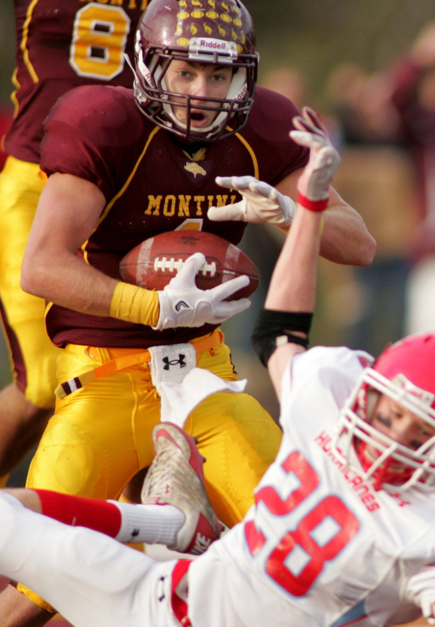 With Rhode, Montini routs Marian Central