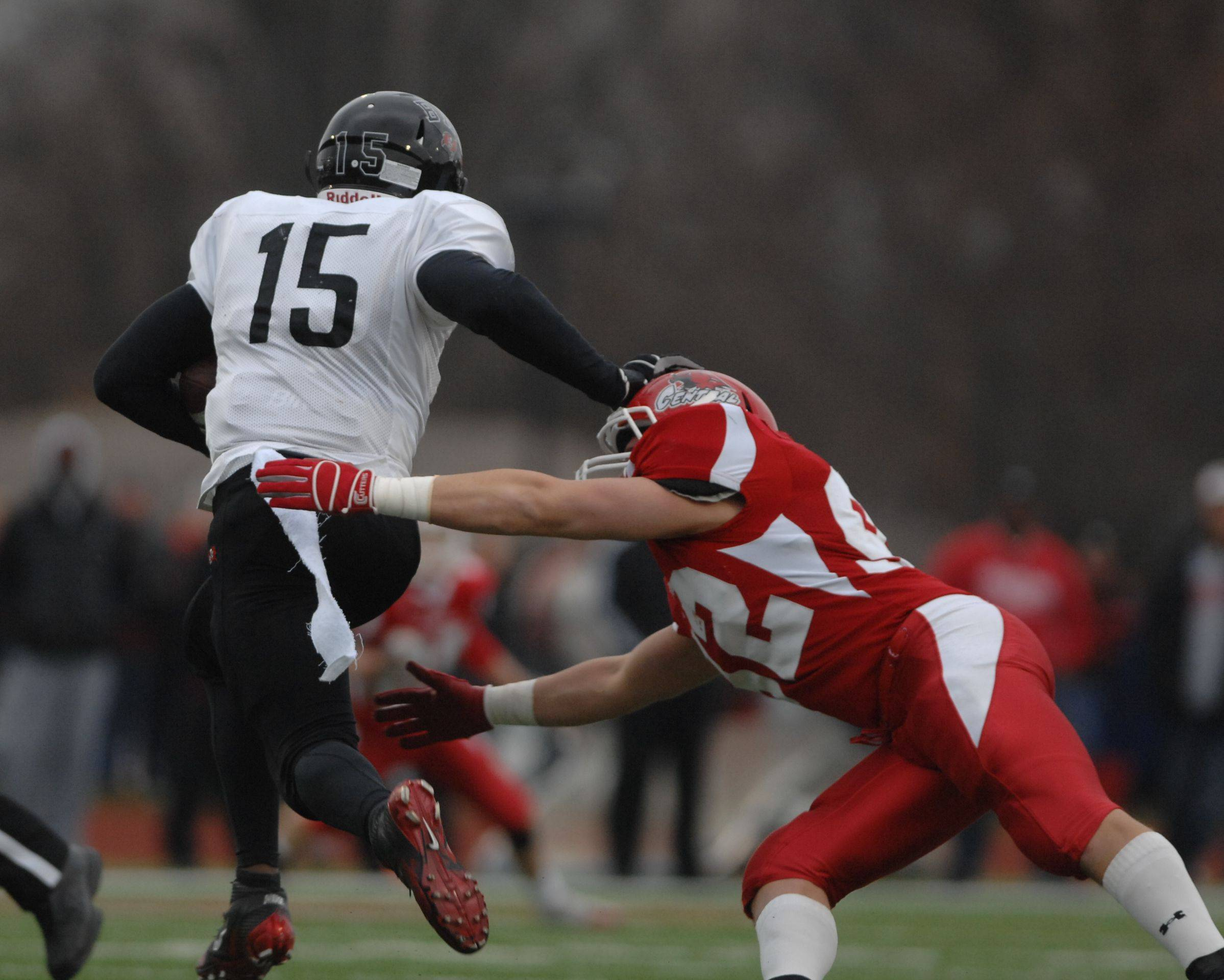 Playoffs - Round Four - Bolingbrook at Naperville Central football in Class 8A semifinals.