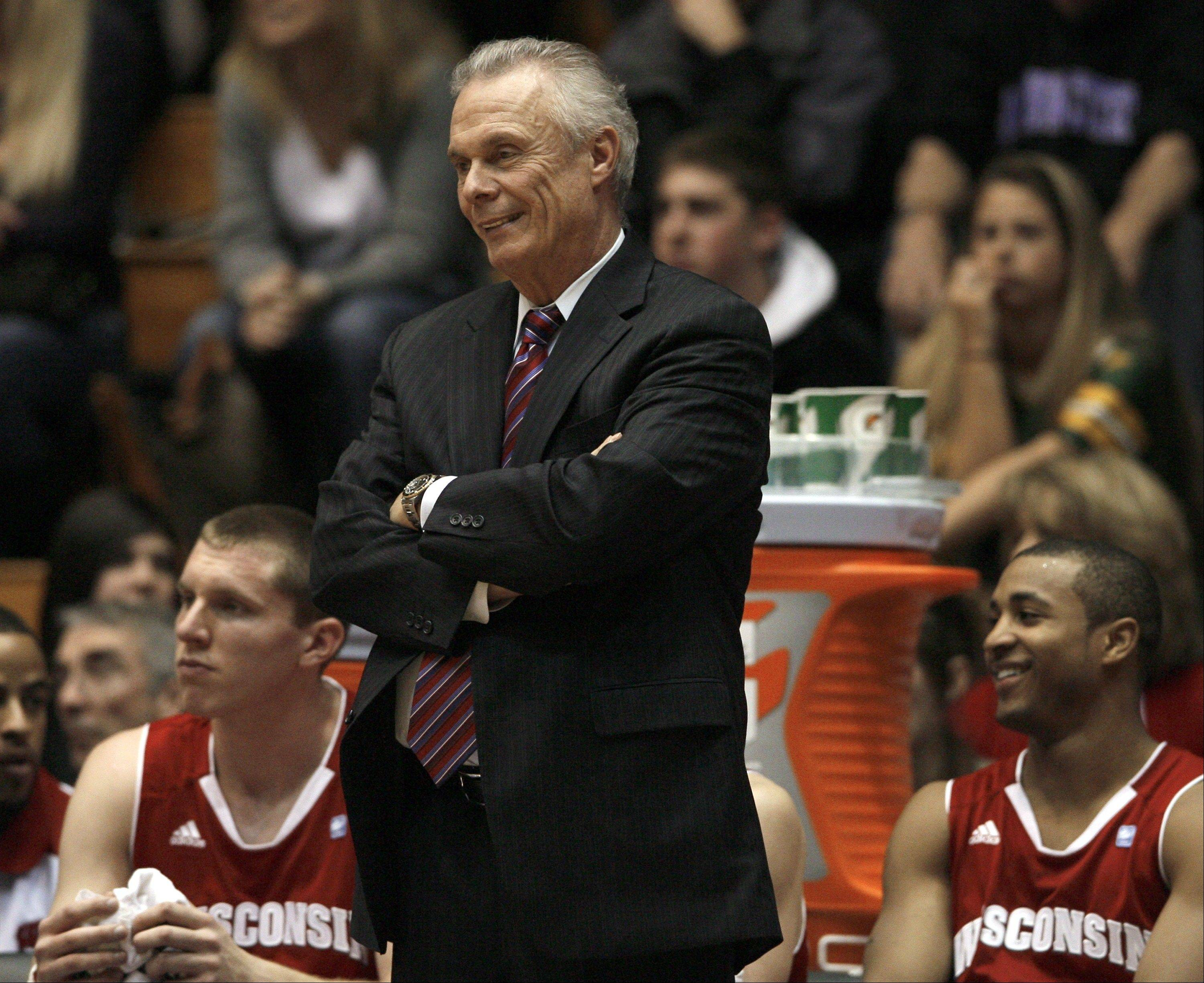 Wisconsin's head coach Bo Ryan, who has a reputation as a task master, also knows a little about sarcasm.