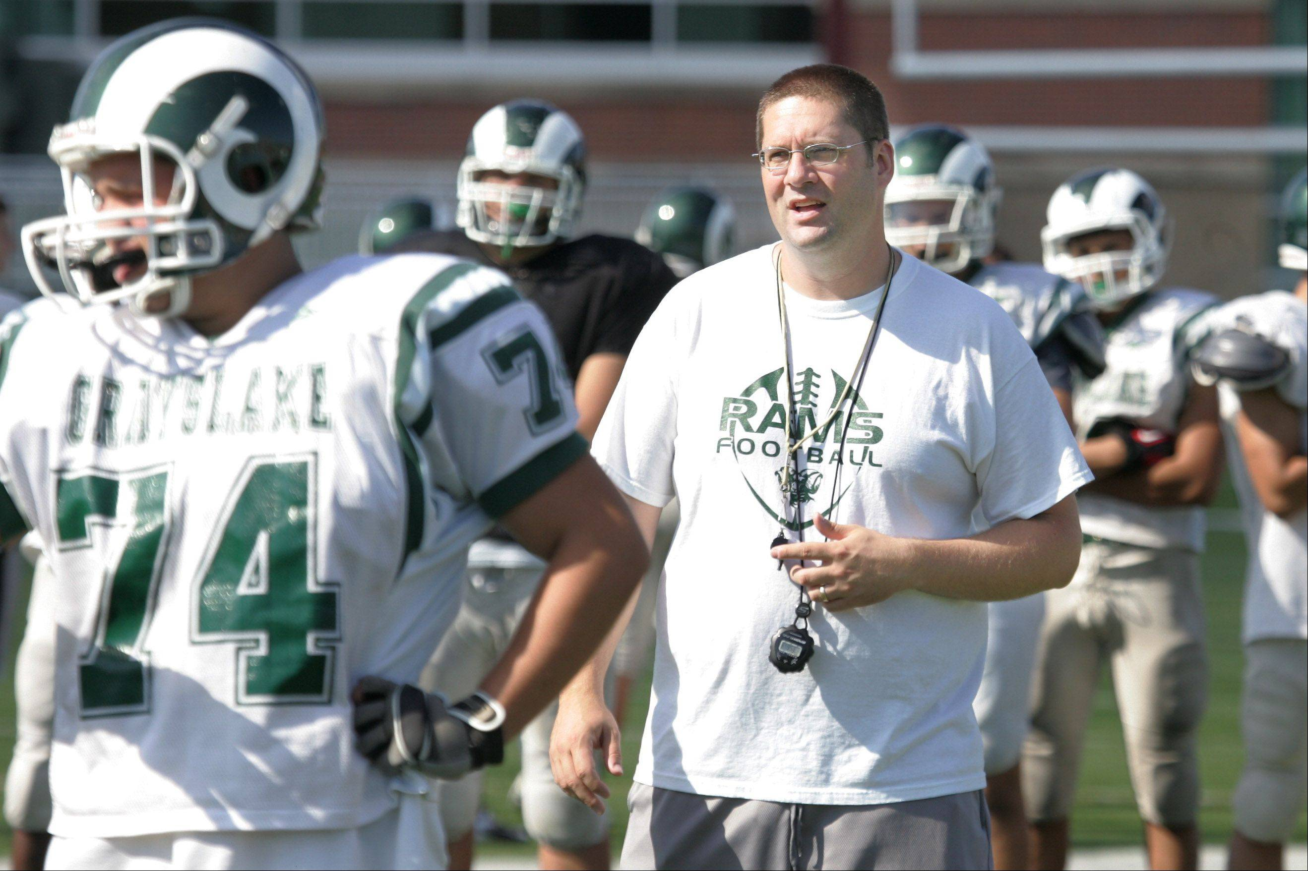 Grayslake Central's new coach, Ben Ault, hopes to sustain the program's recent playoff successes.