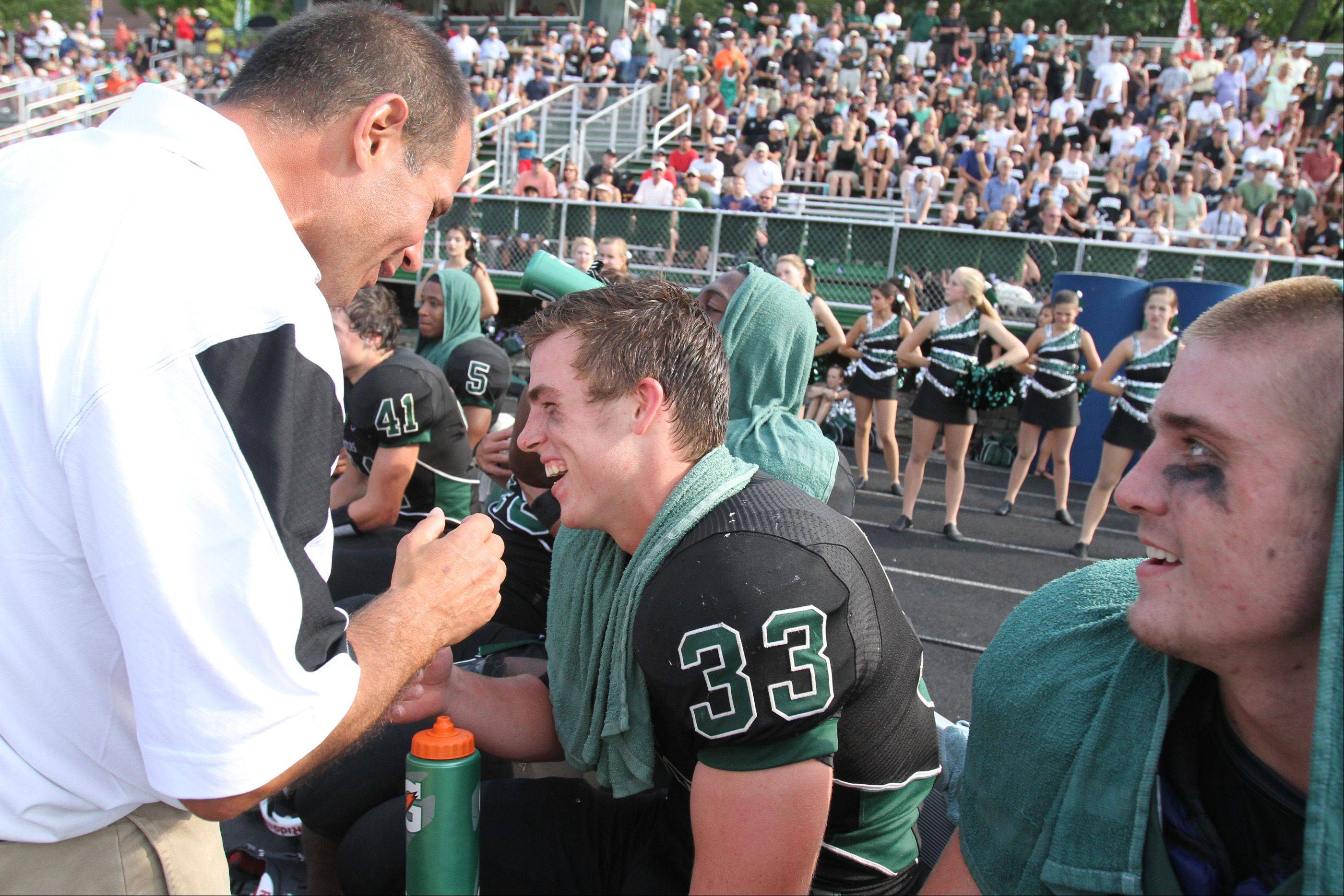 Week -1- Photos from the Wheaton Warrenville South at Glenbard West football game Saturday, August 25.
