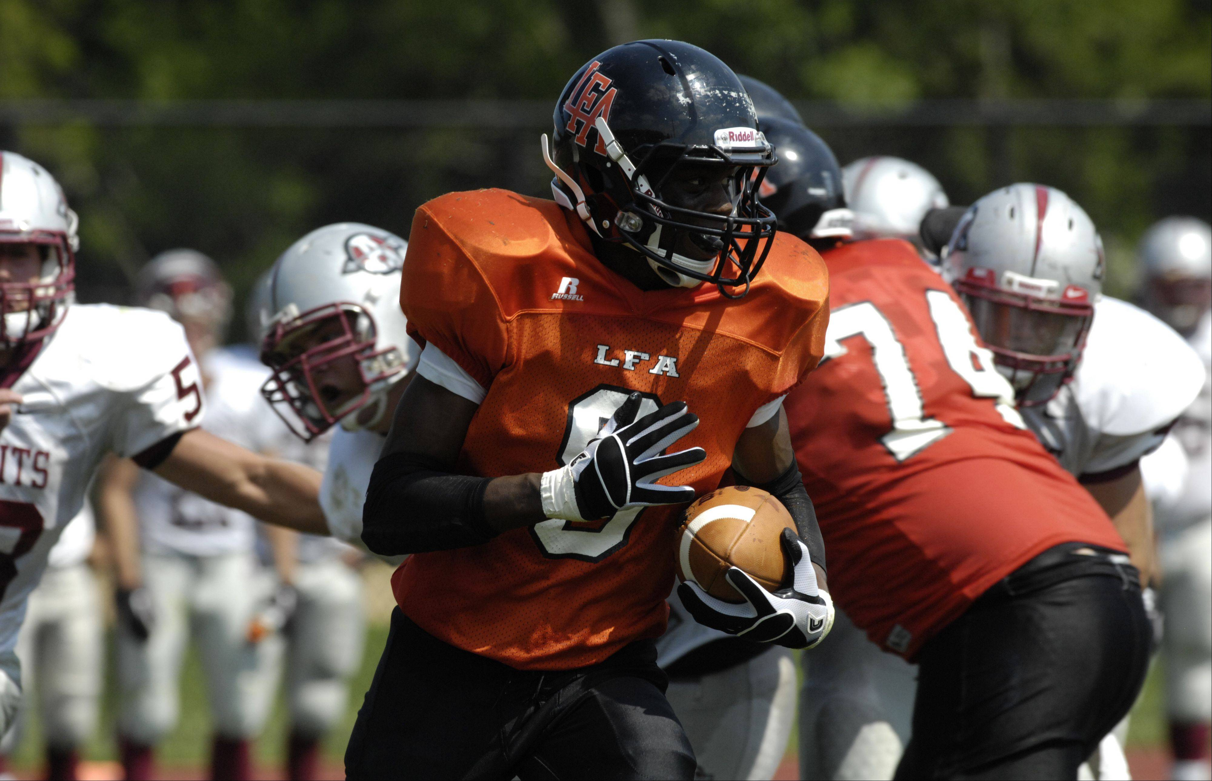 Week -1- Photos from the Antioch at Lake Forest Academy football game on Saturday, August 25.