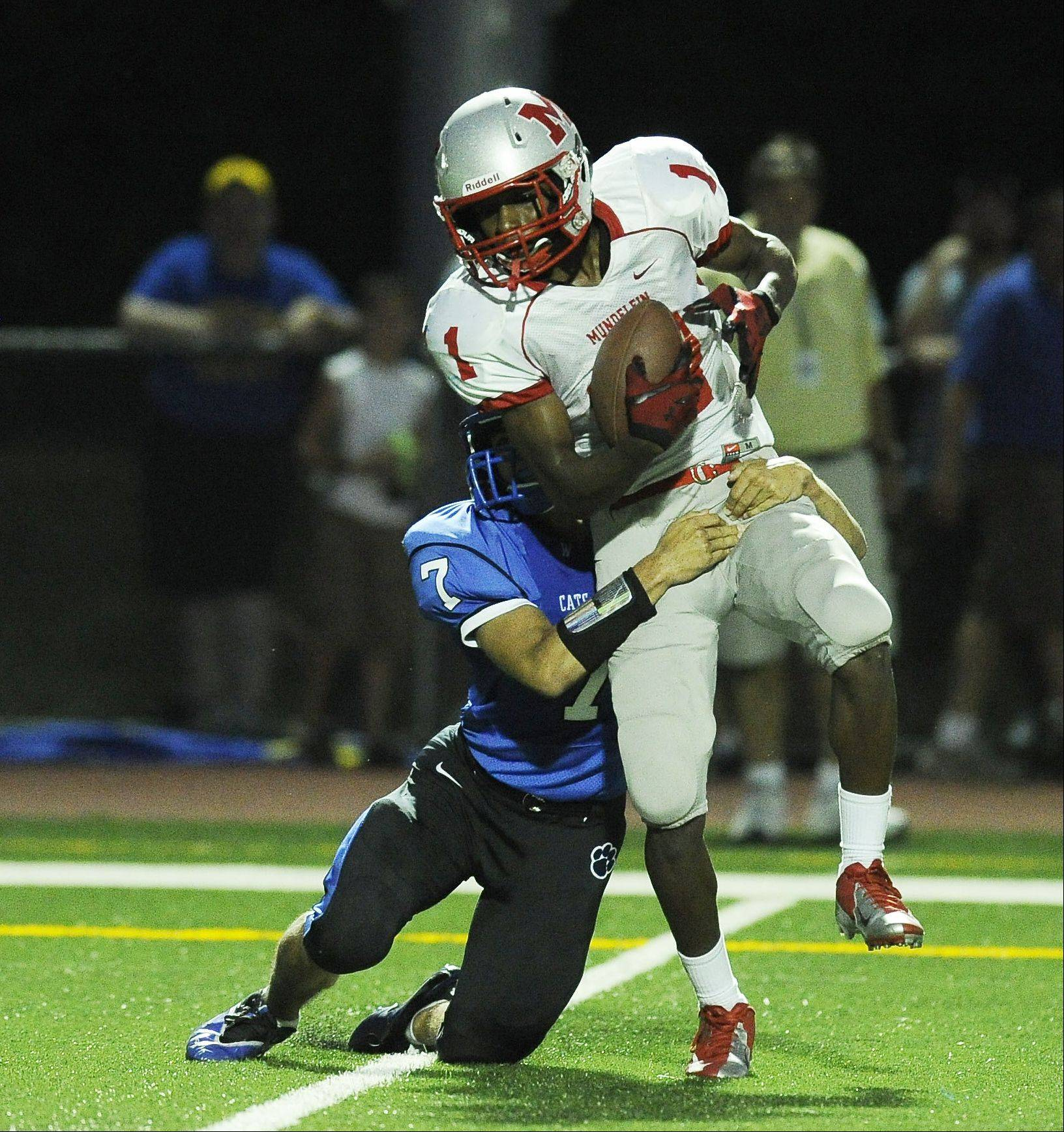 Week 1- Photos from the Mundelein vs. Wheeling football game on Friday, August 24th at Wheeling High School.