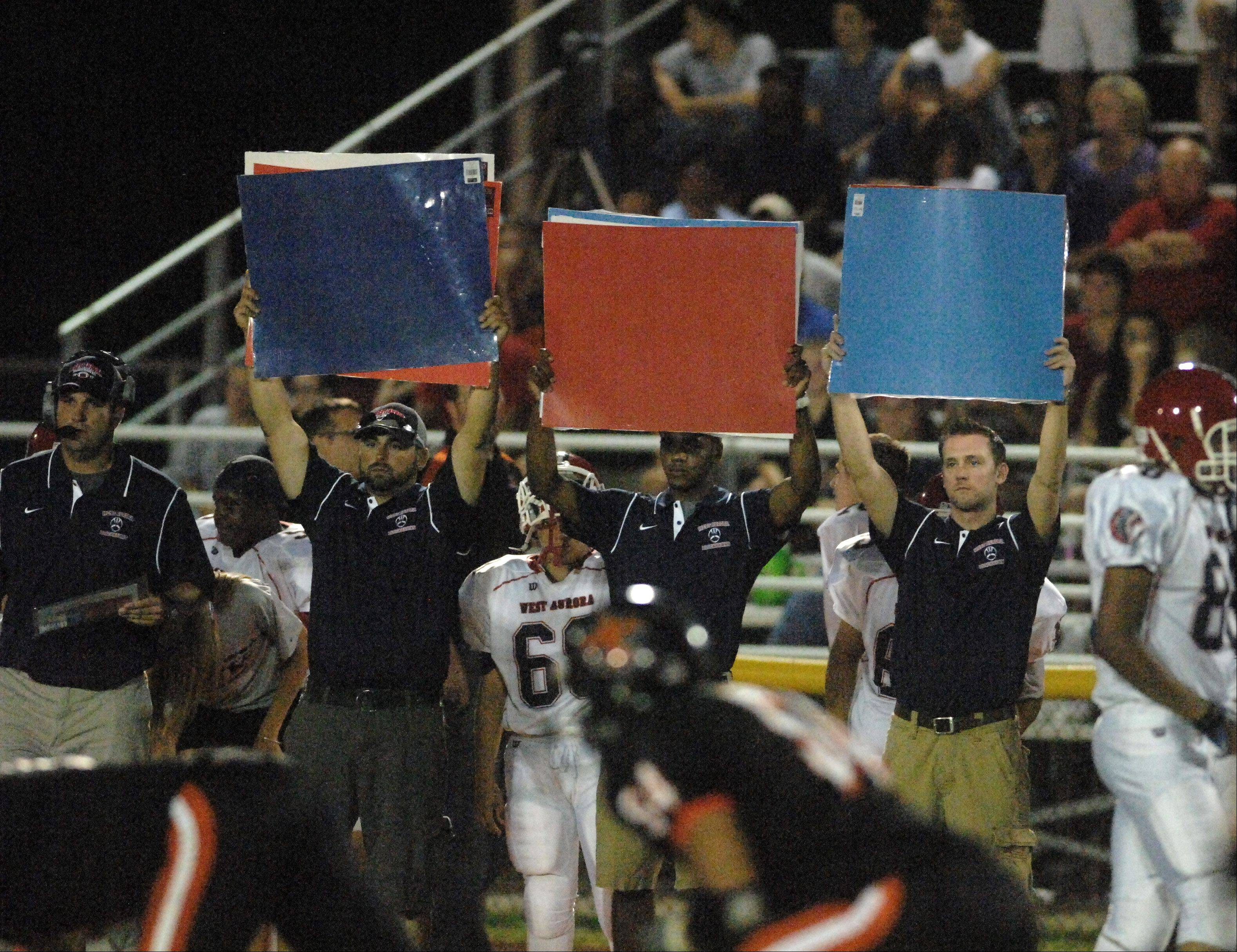 Week Two - Images from the West Aurora vs. St. Charles East football game Friday, August 31, 2012.