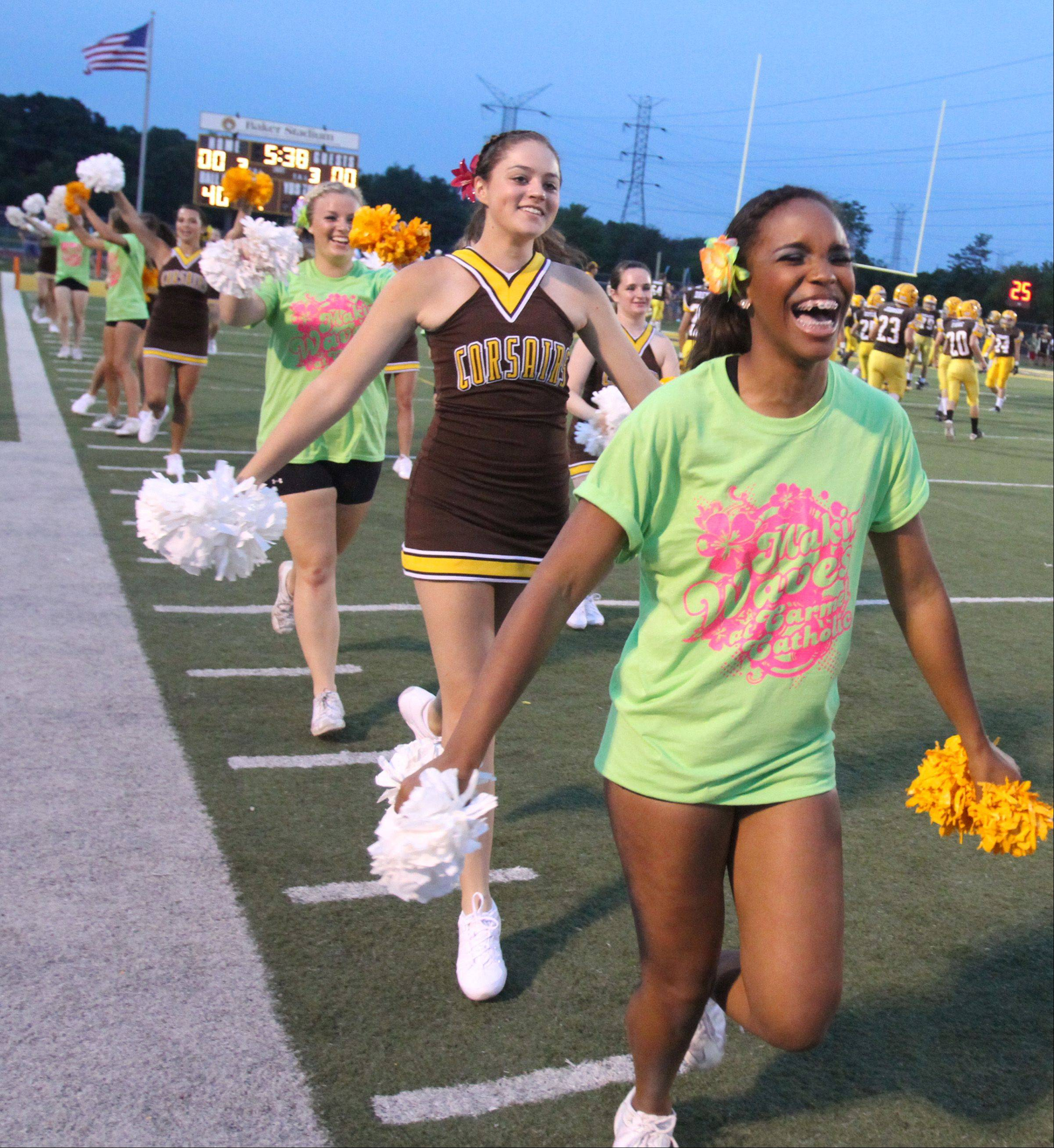 Week -2- Photos from the Glenbard North at Carmel football game Friday, August 31 in Mundelein.