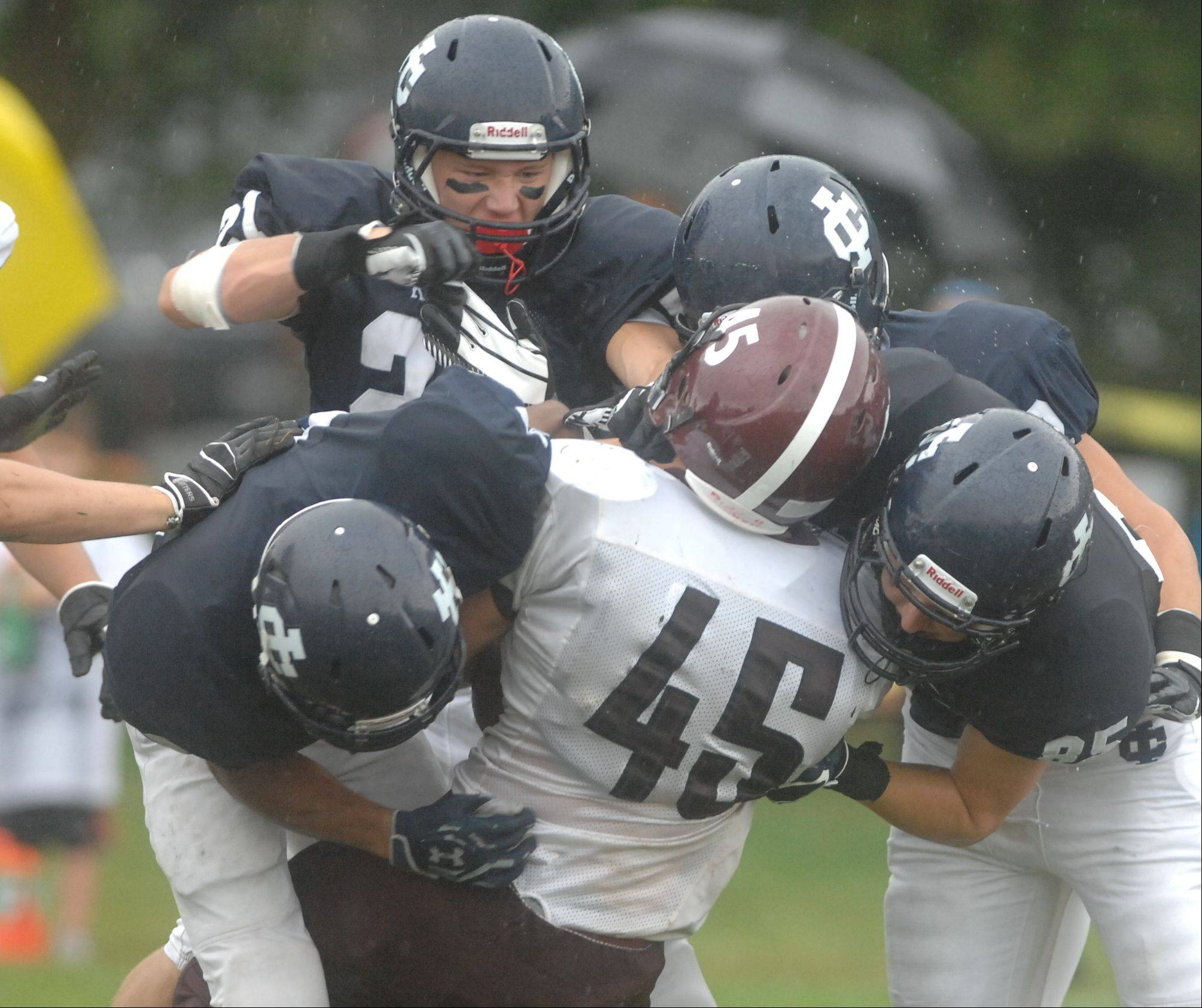 Week -2- Photos from the Wheaton Academy at Immaculate Conception football game Saturday, September 1.