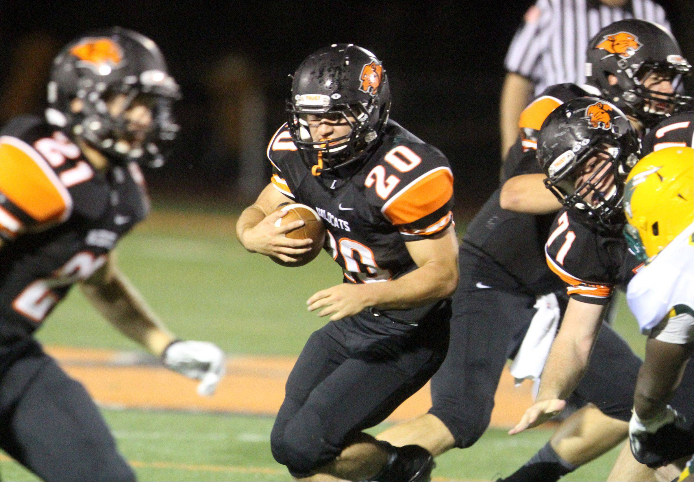 Images: Libertyville vs. Stevenson football