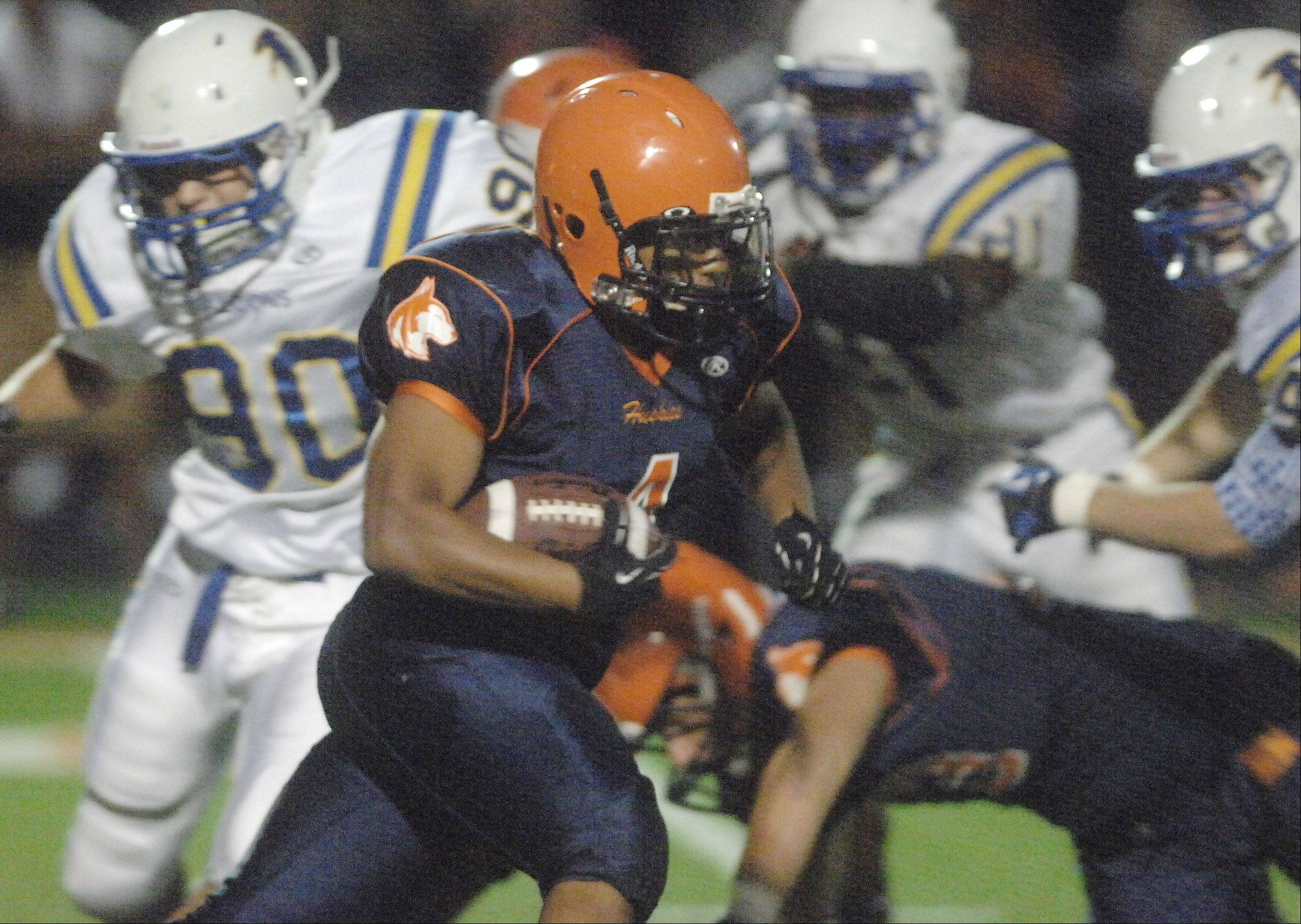 Images: Wheaton North at Naperville North football