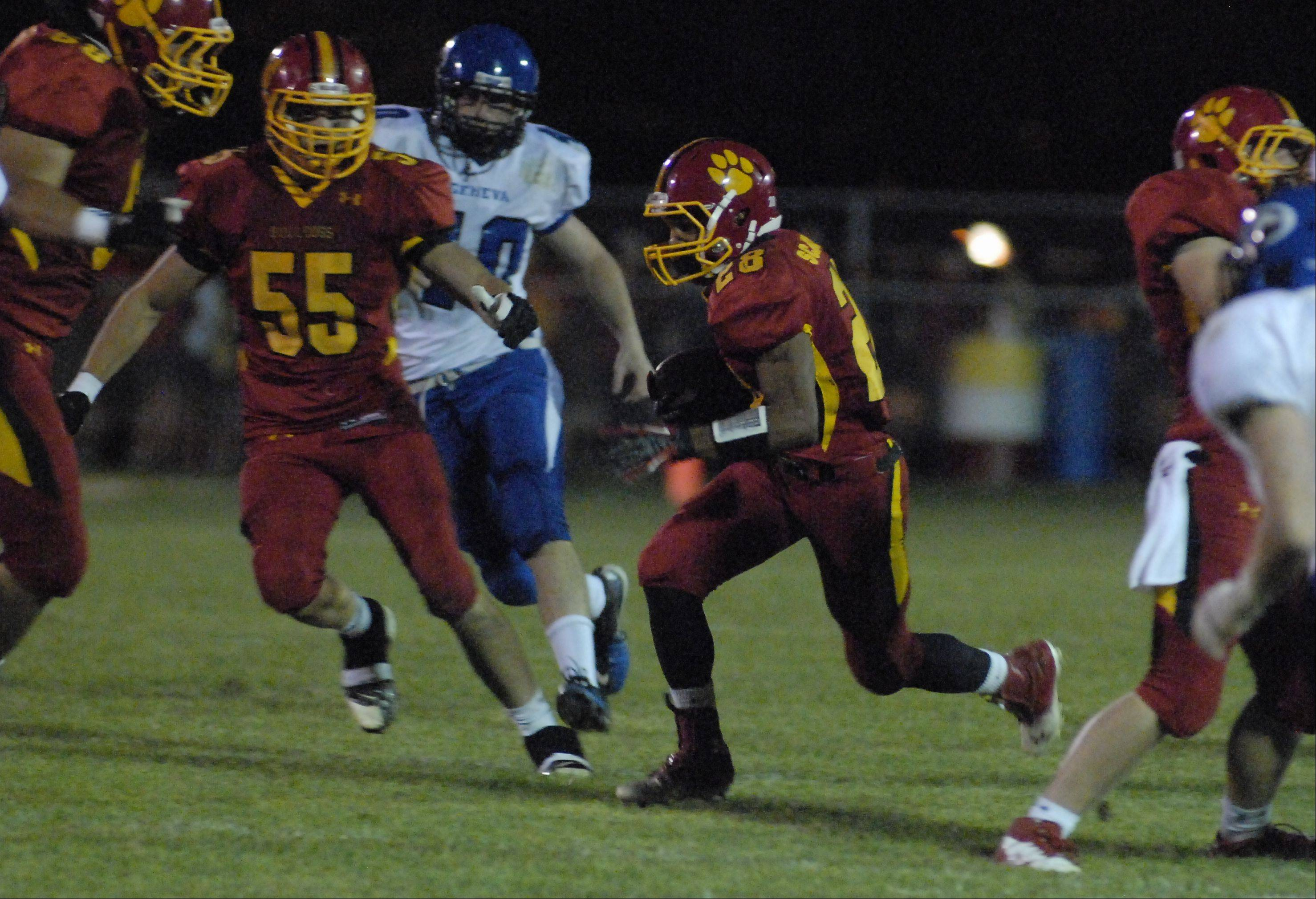 Week Three - Images from the Geneva vs. Batavia football game Friday, September 7, 2012.