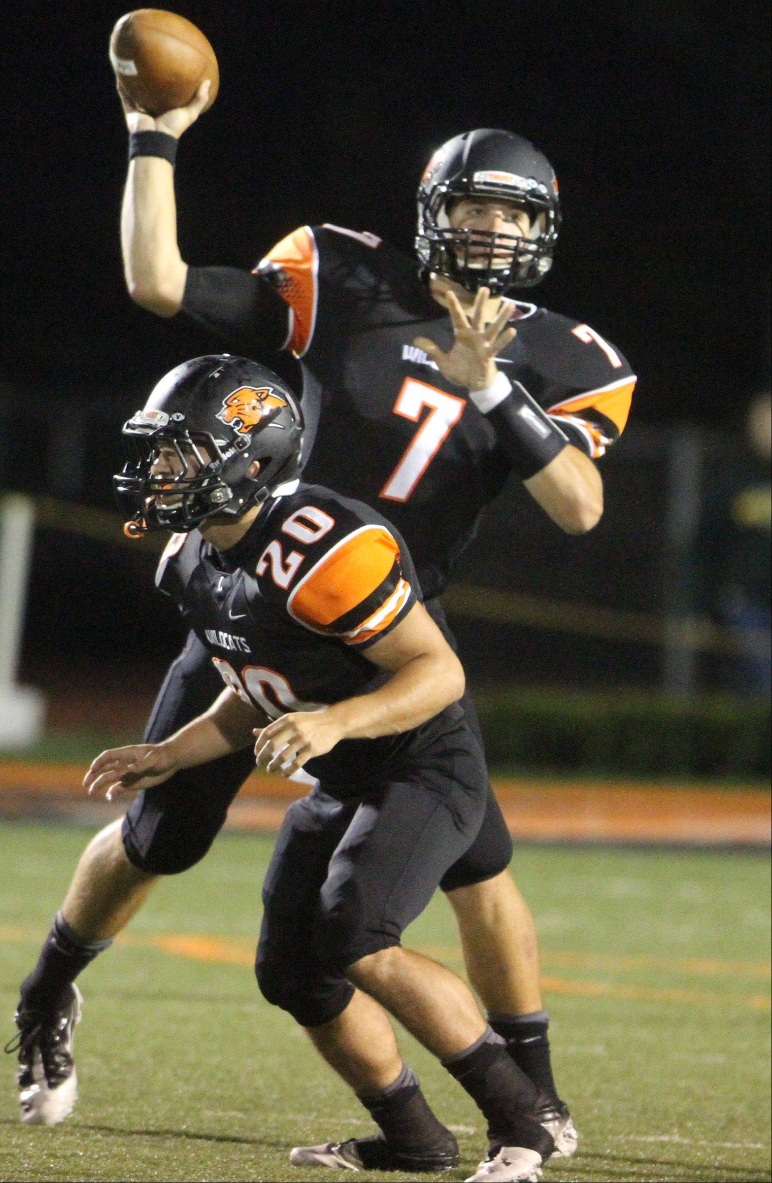 Week -3- Photos from the Stevenson at Libertyville football game Friday, Sept. 7.