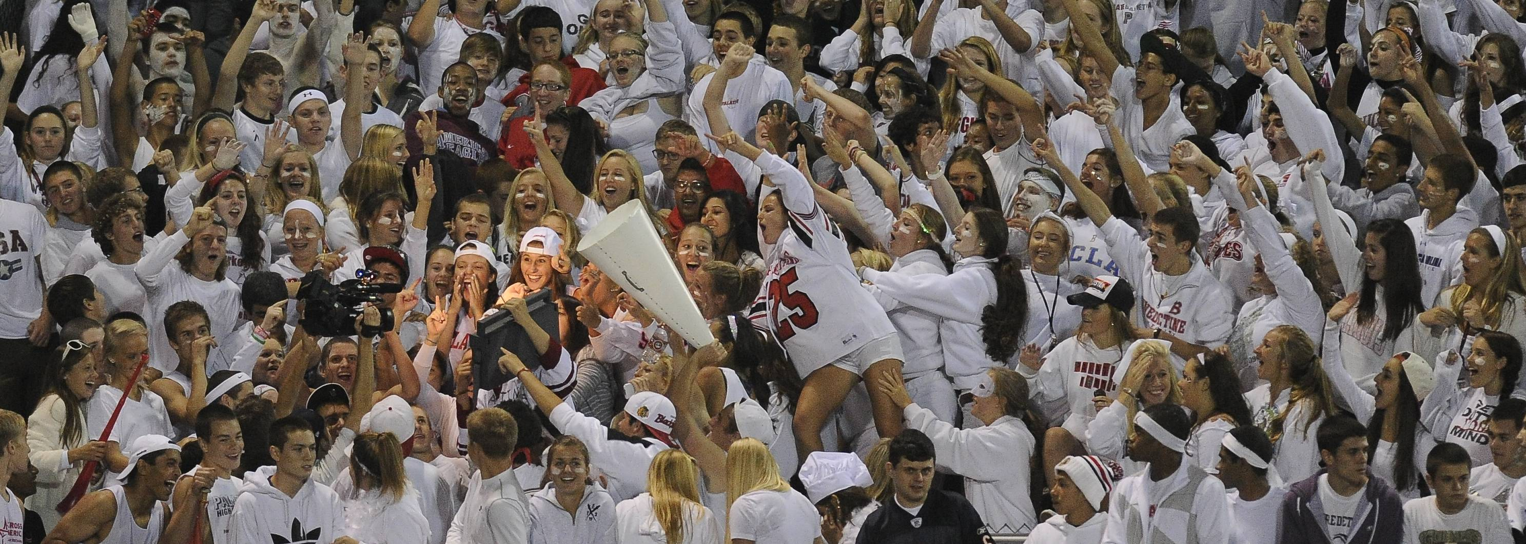 Week 3 matchup: Palatine vs. Elk Grove Village -- the fans
