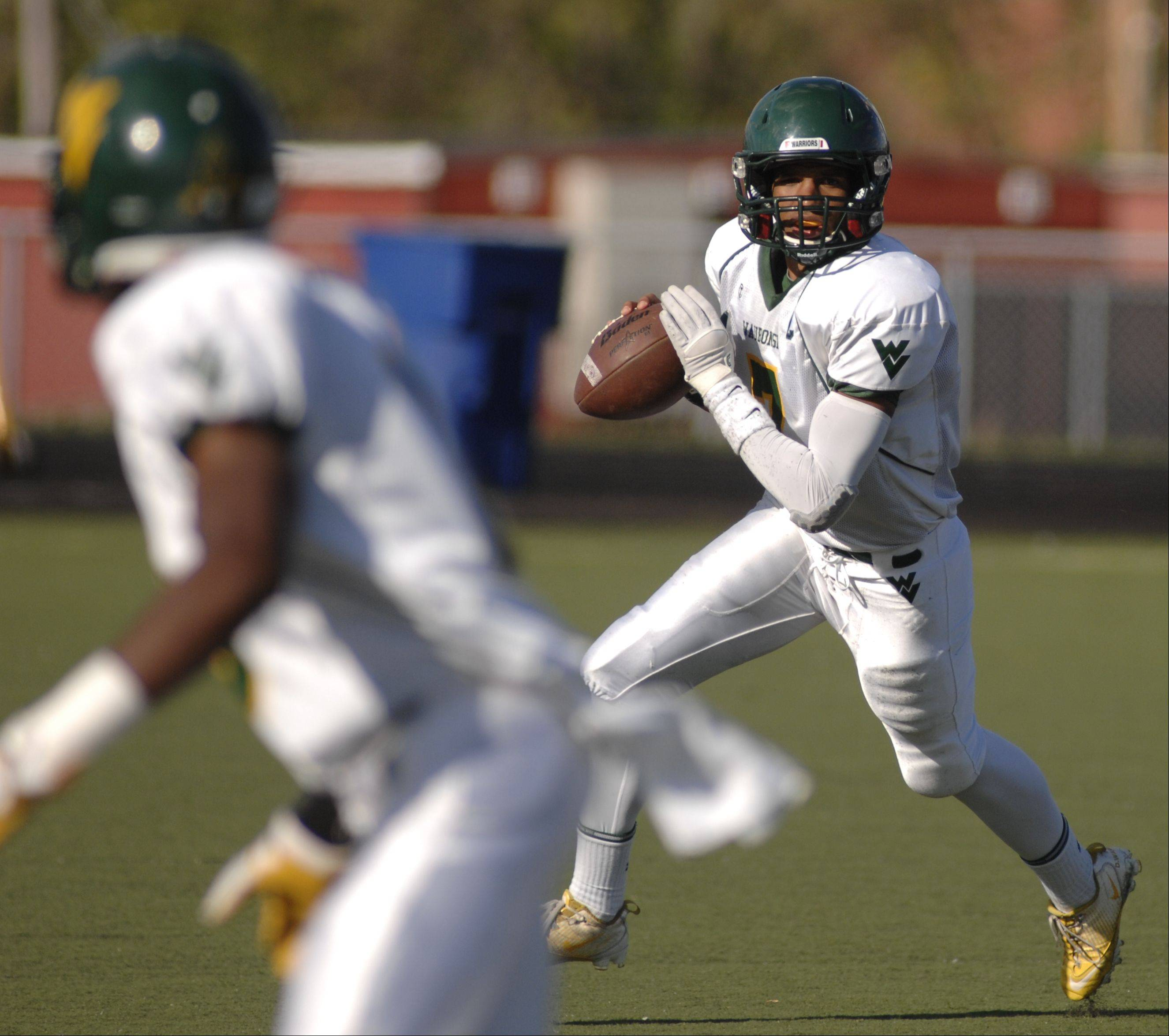 Week Three - Images from the Waubonsie Valley vs. Streamwood football game Saturday, September 8, 2012.