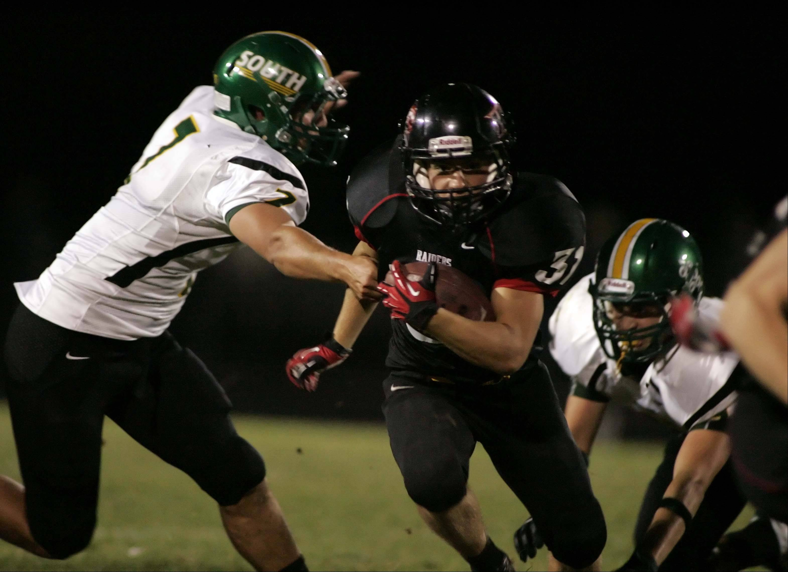 Week Four - Images from the Crystal Lake South vs. Huntley football game Friday, September 14, 2012.