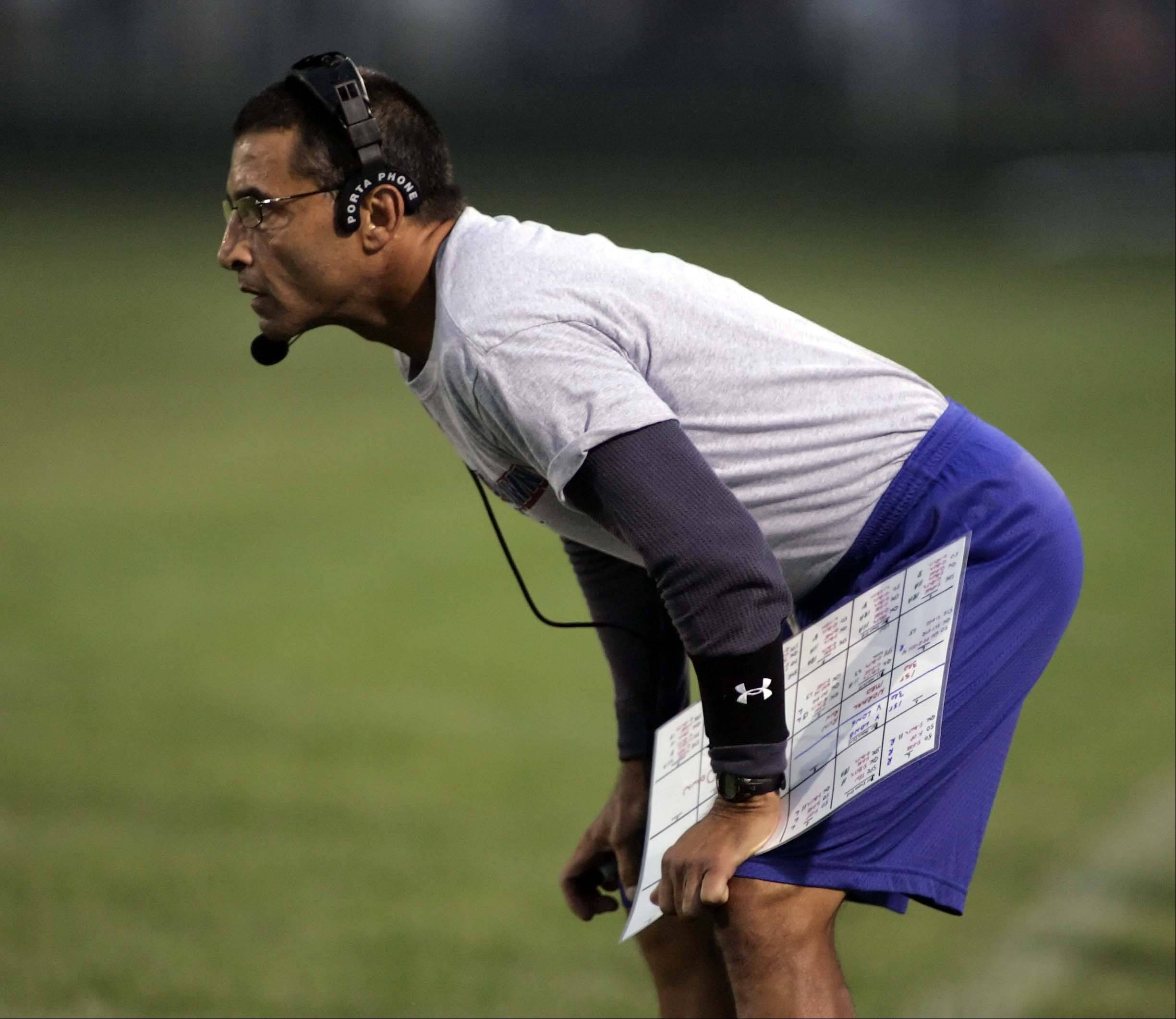 Dundee-Crown coach Vito Andriola has the Chargers playing their best football in many years. D-C is 3-1 heading into Friday night's key Fox Valley Conference Valley Division matchup at Huntley.