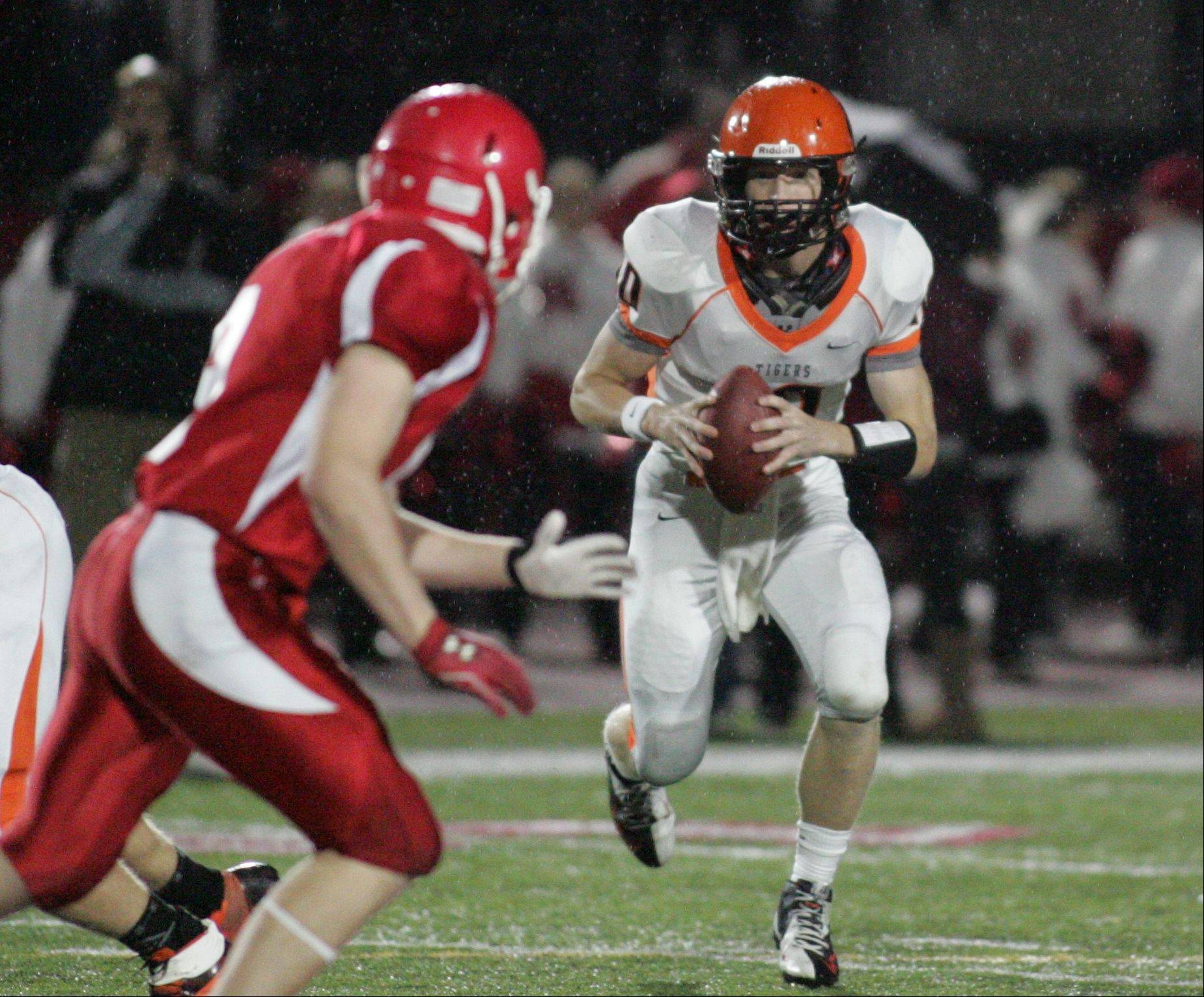 Photos from the Wheaton Warrenville South at Naperville Central football game Friday, September 21.