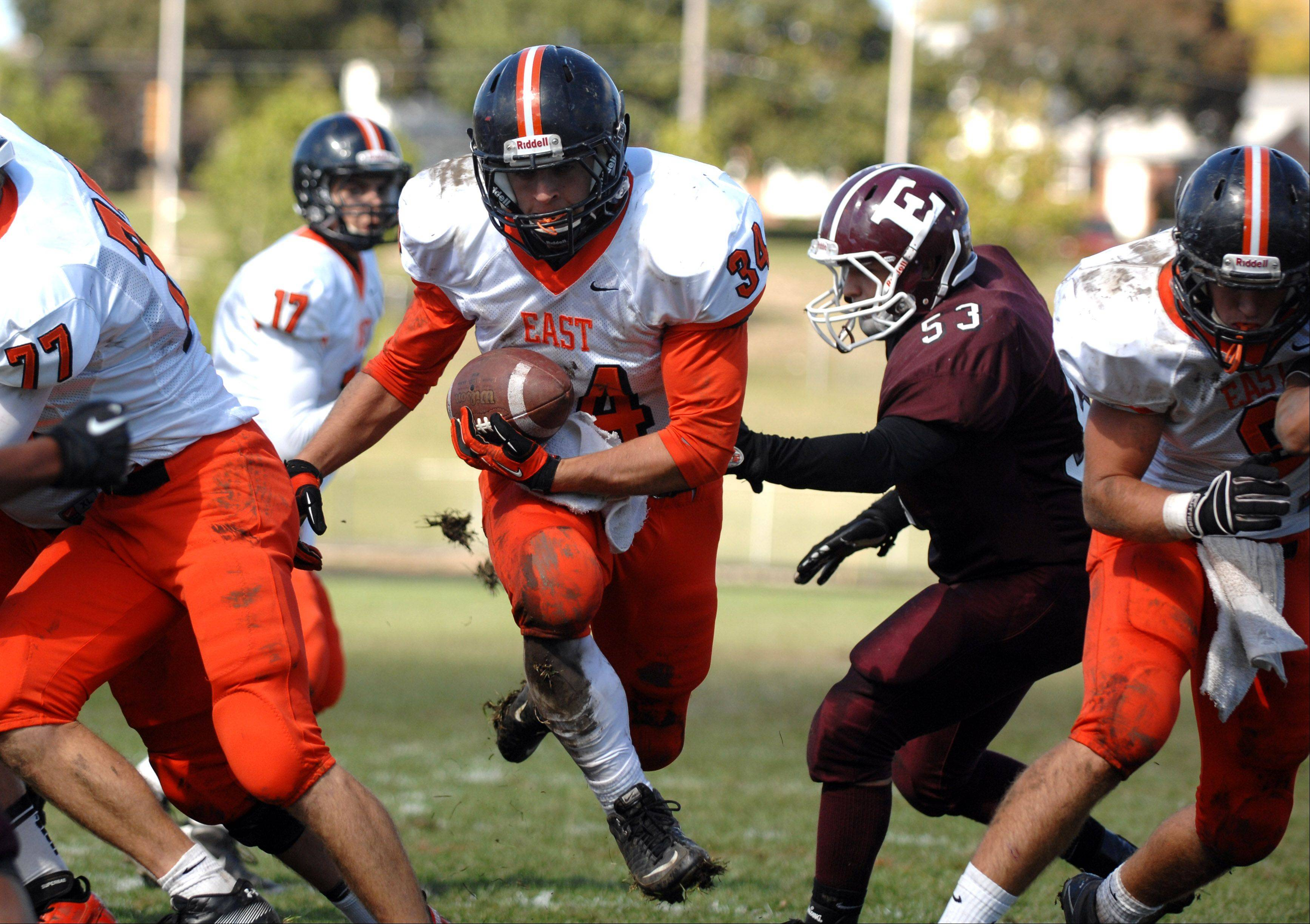 Images: St. Charles East at Elgin football