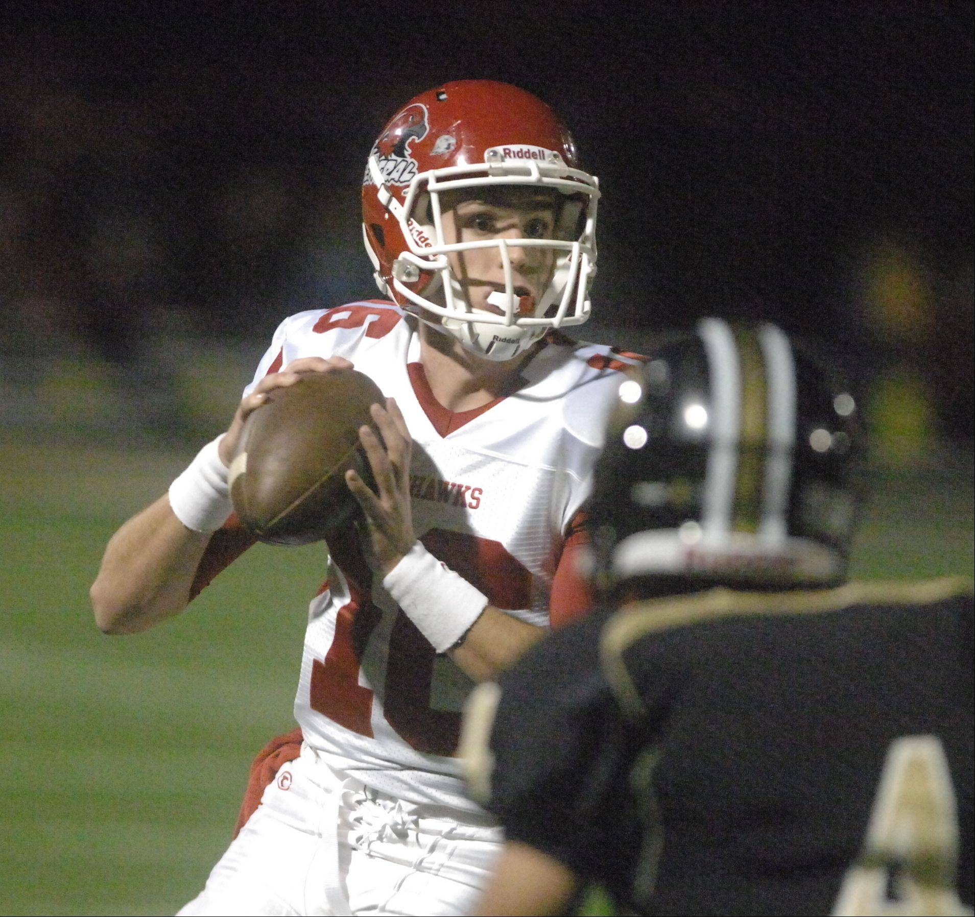 Photos from the Naperville Central at Glenbard North football Friday, September 28.
