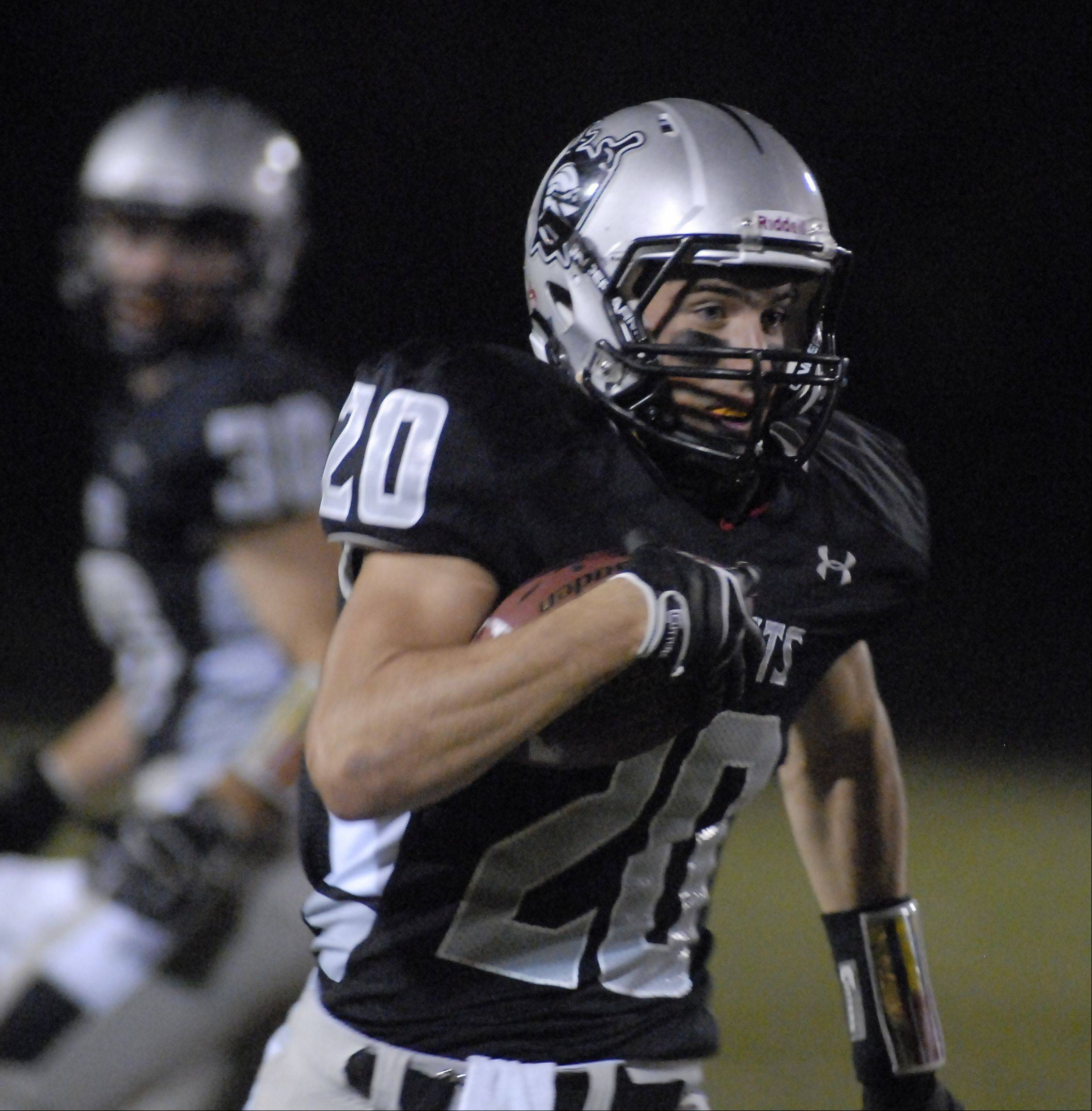 Week 6- Images from DeKalb at Kaneland for Friday night football on Sept. 28, 2012
