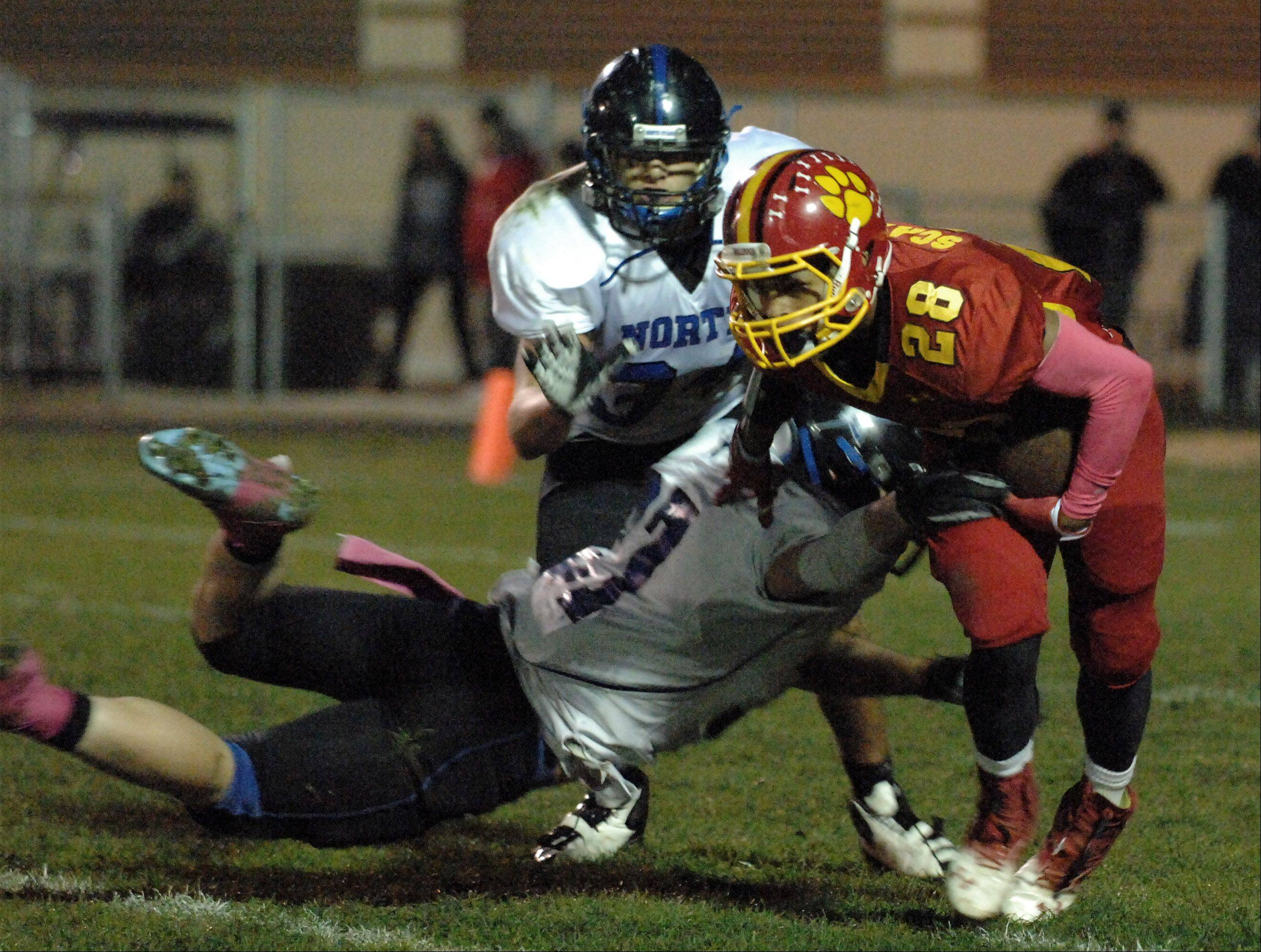 Week 7 - Images from the St. Charles North vs. Batavia football game Friday, October 5, 2012.